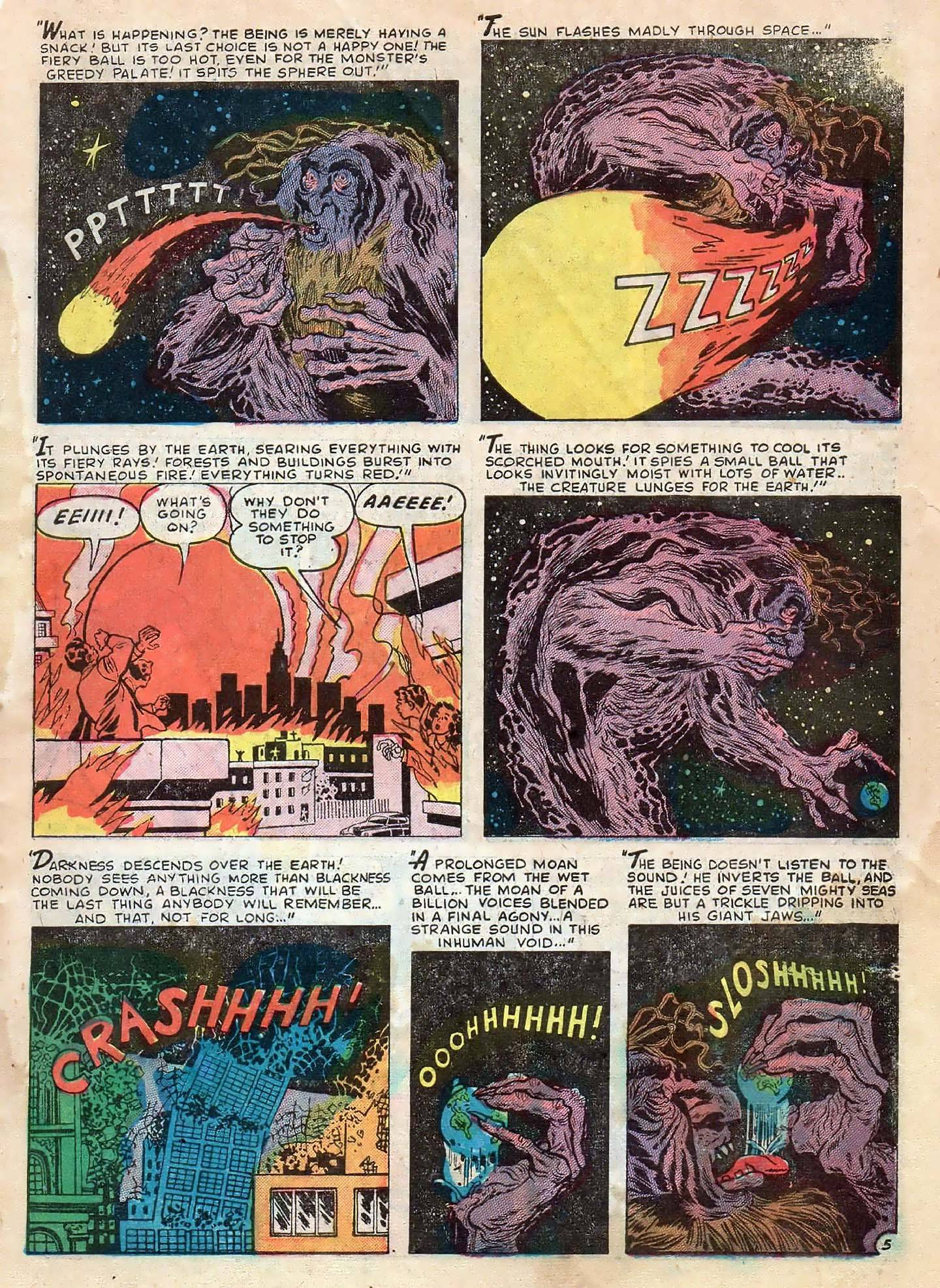 Read online Adventures into Weird Worlds comic -  Issue #2 - 31