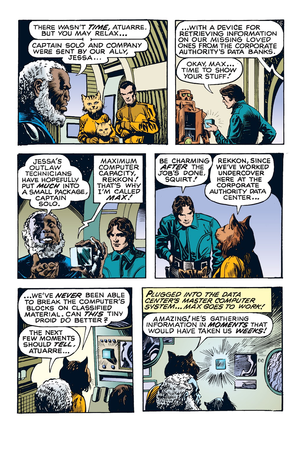 Read online Star Wars Legends: The Newspaper Strips - Epic Collection comic -  Issue # TPB (Part 4) - 28