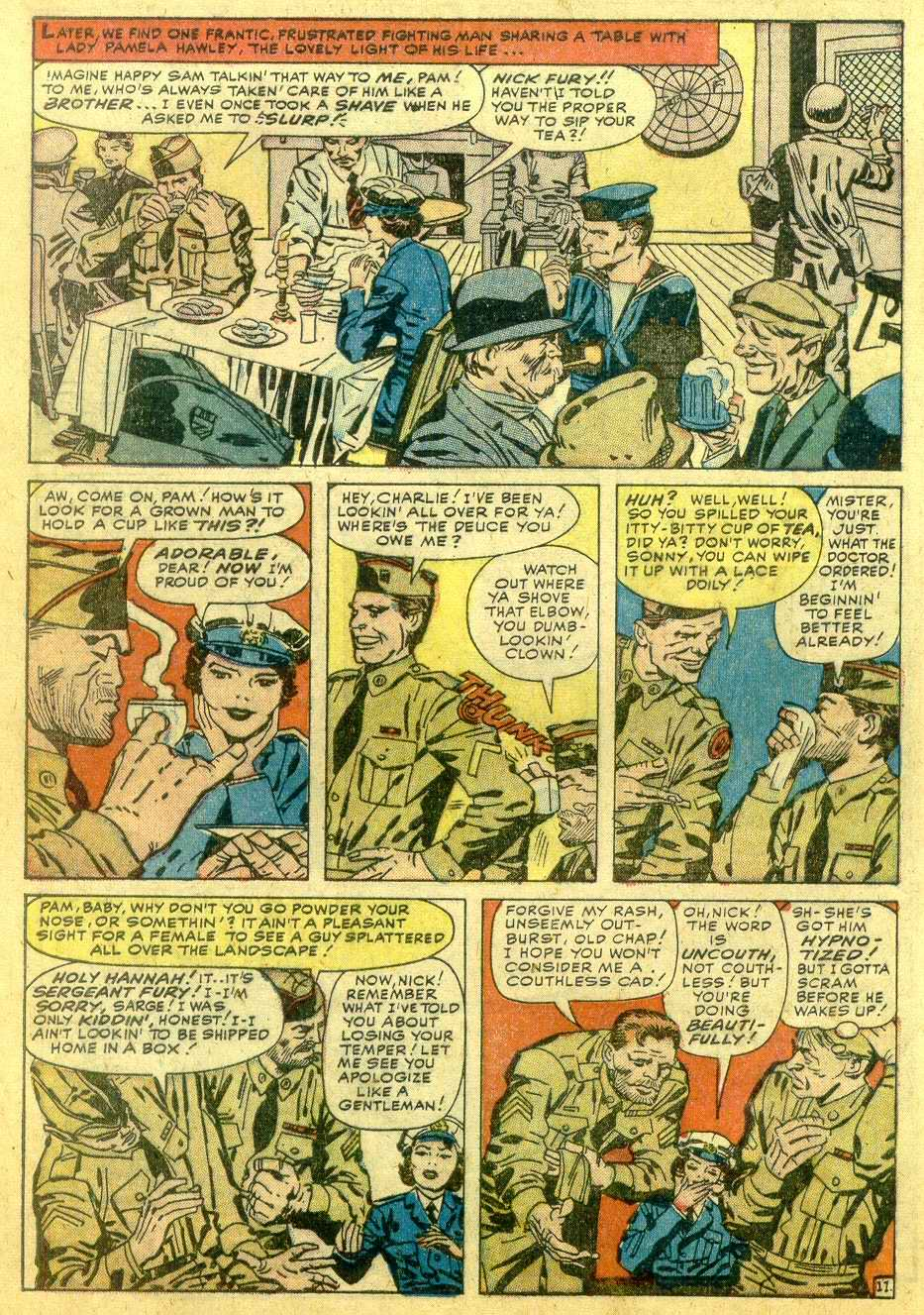 Read online Sgt. Fury comic -  Issue # _Annual 1 - 58