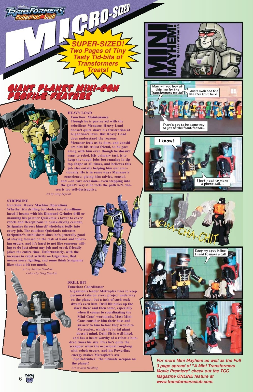 Read online Transformers: Collectors' Club comic -  Issue #15 - 6