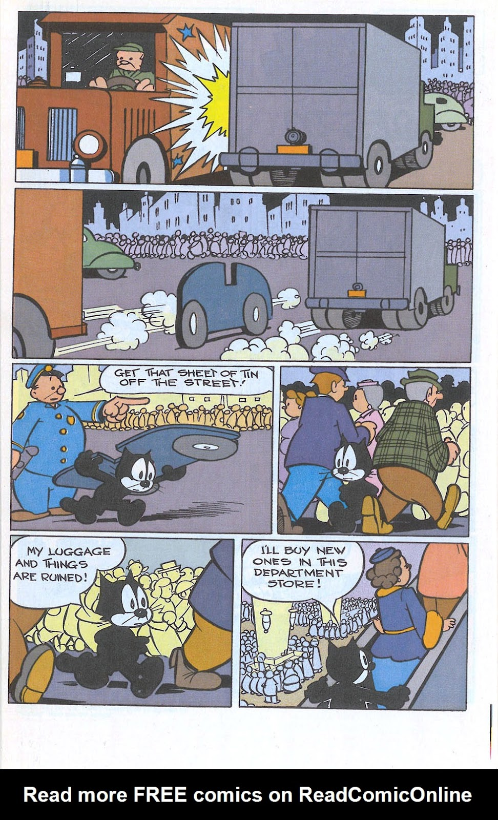Read online Felix the Cat comic -  Issue #3 - 25