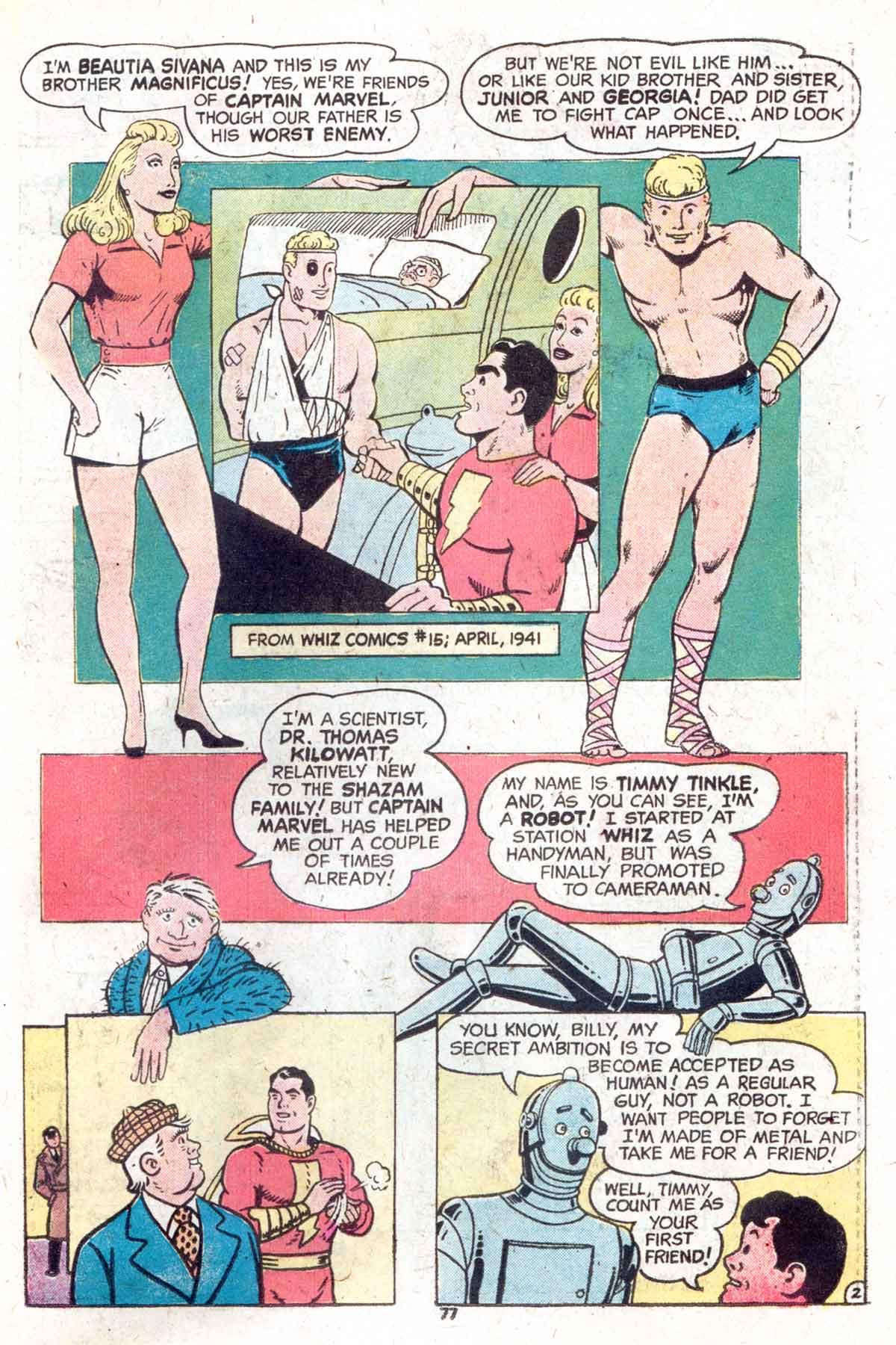 Read online Shazam! (1973) comic -  Issue #13 - 78