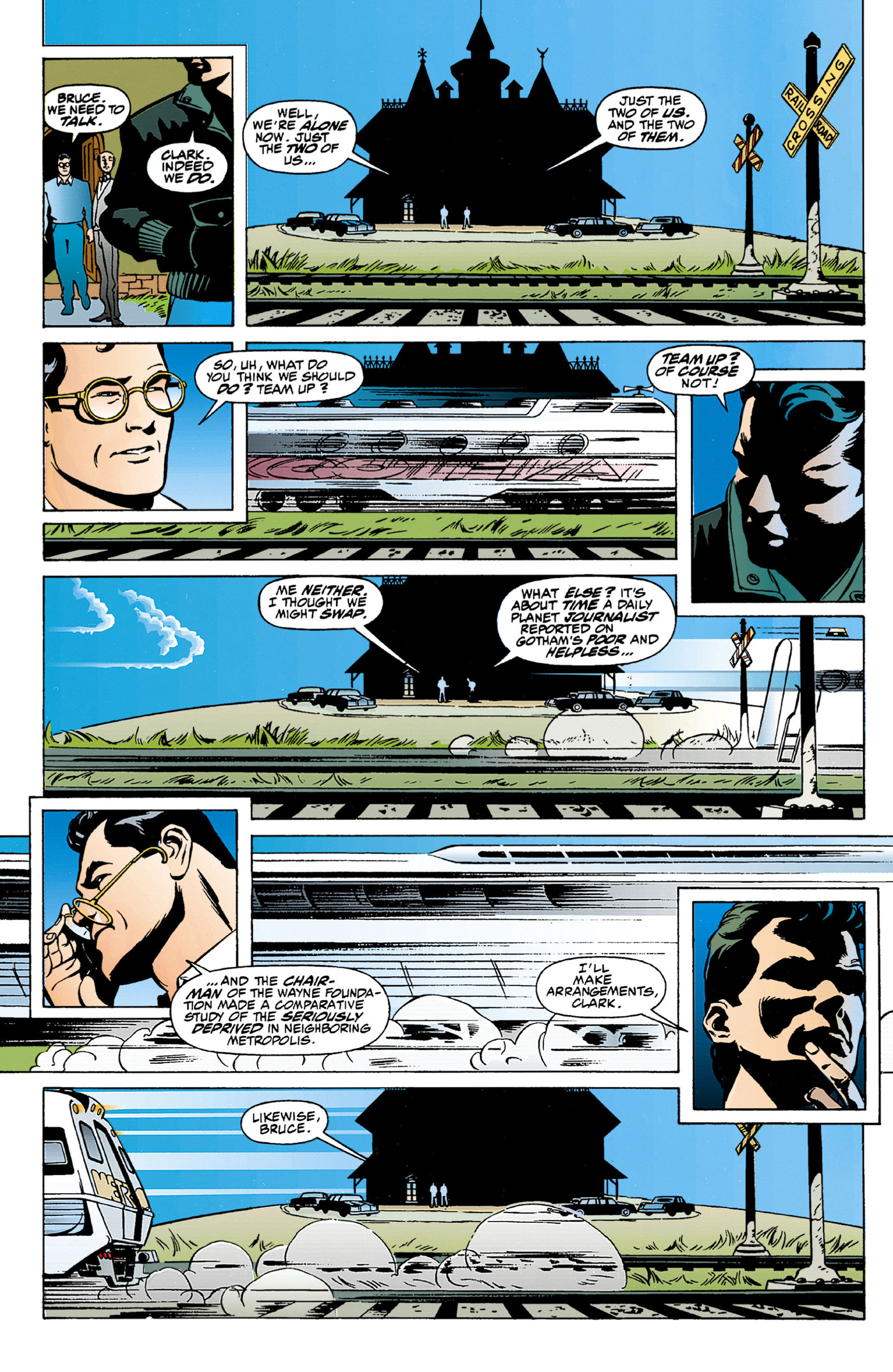 Read online World's Finest (1990) comic -  Issue #1 - 47