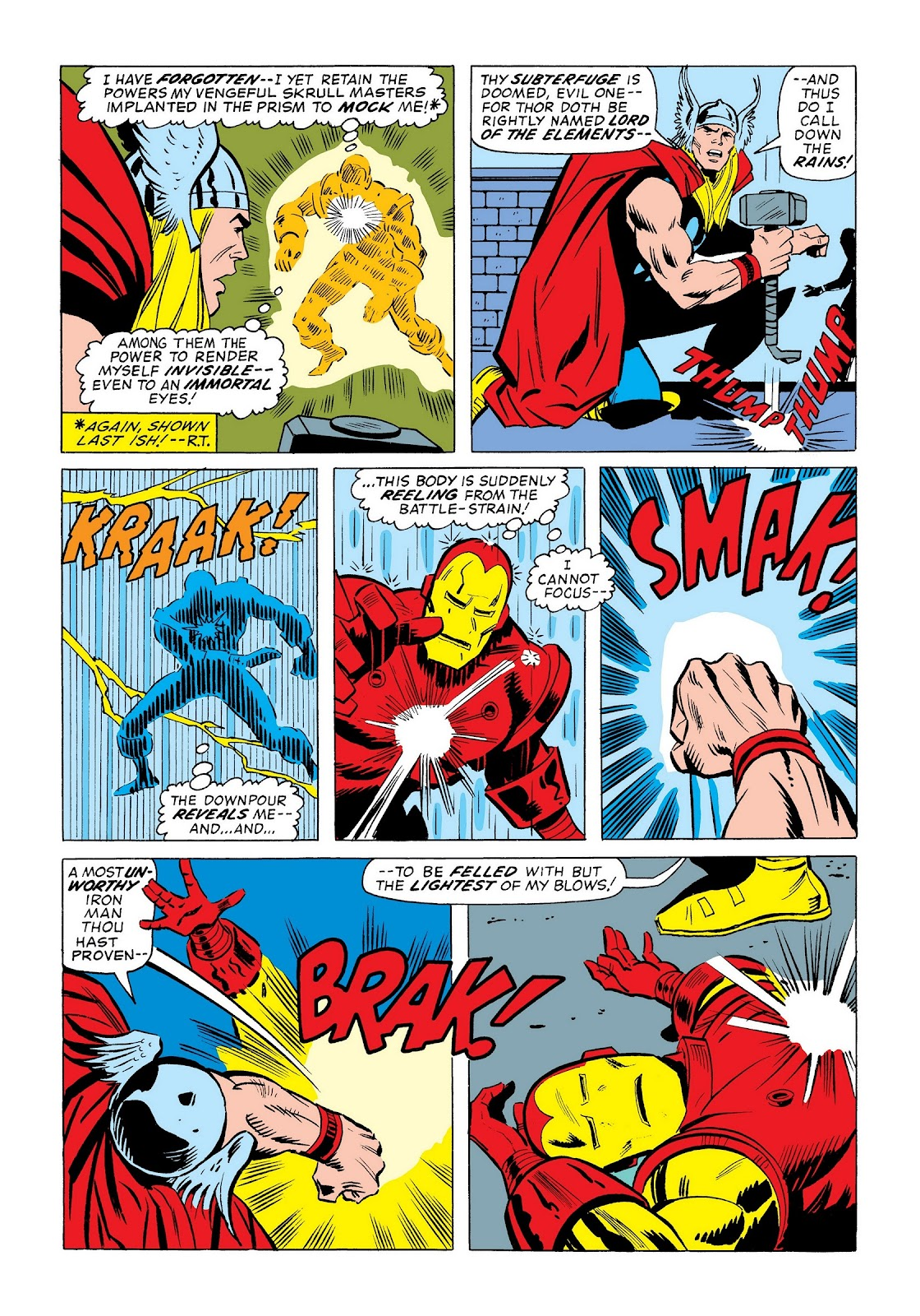 Read online Marvel Masterworks: The Invincible Iron Man comic -  Issue # TPB 9 (Part 3) - 58