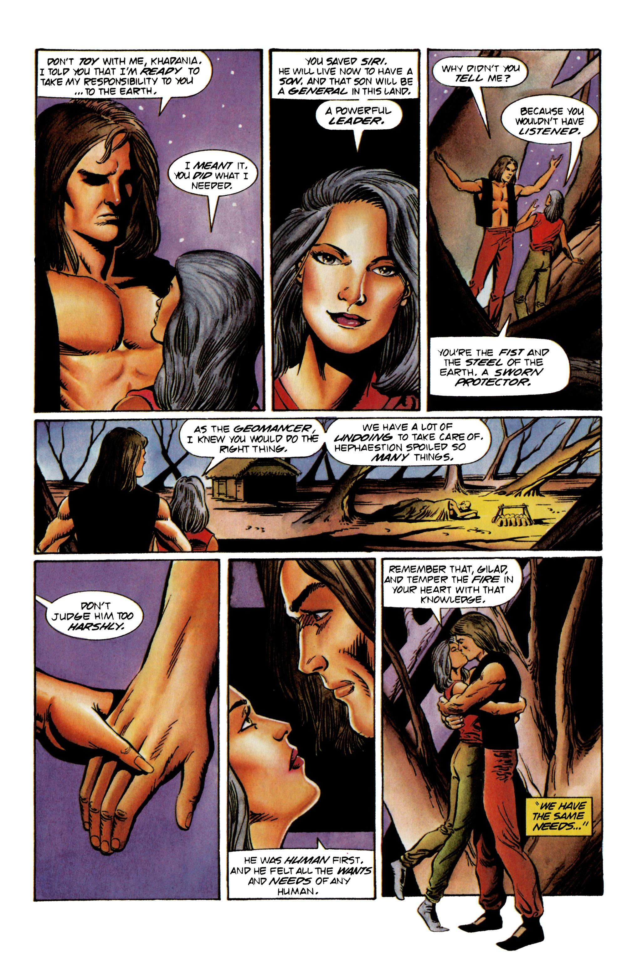Read online Eternal Warrior (1992) comic -  Issue #23 - 21