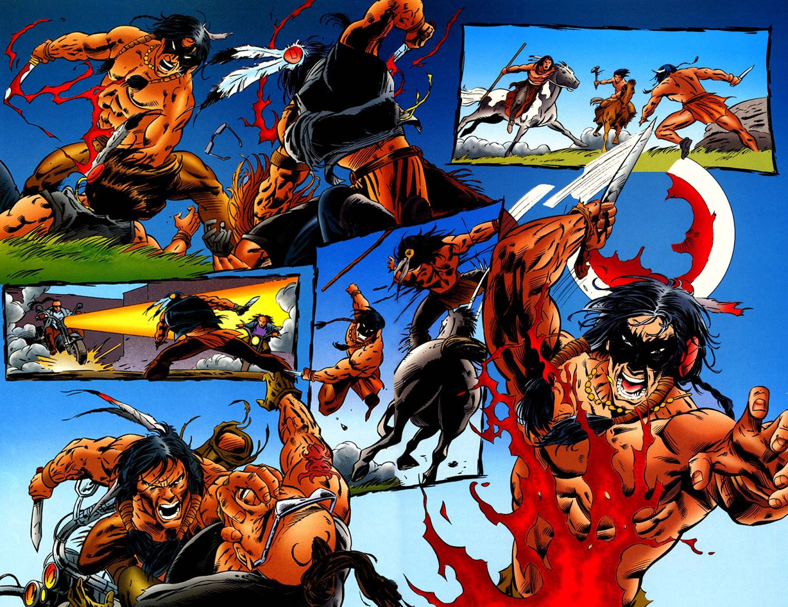 Comic Turok, Dinosaur Hunter (1993) issue 46
