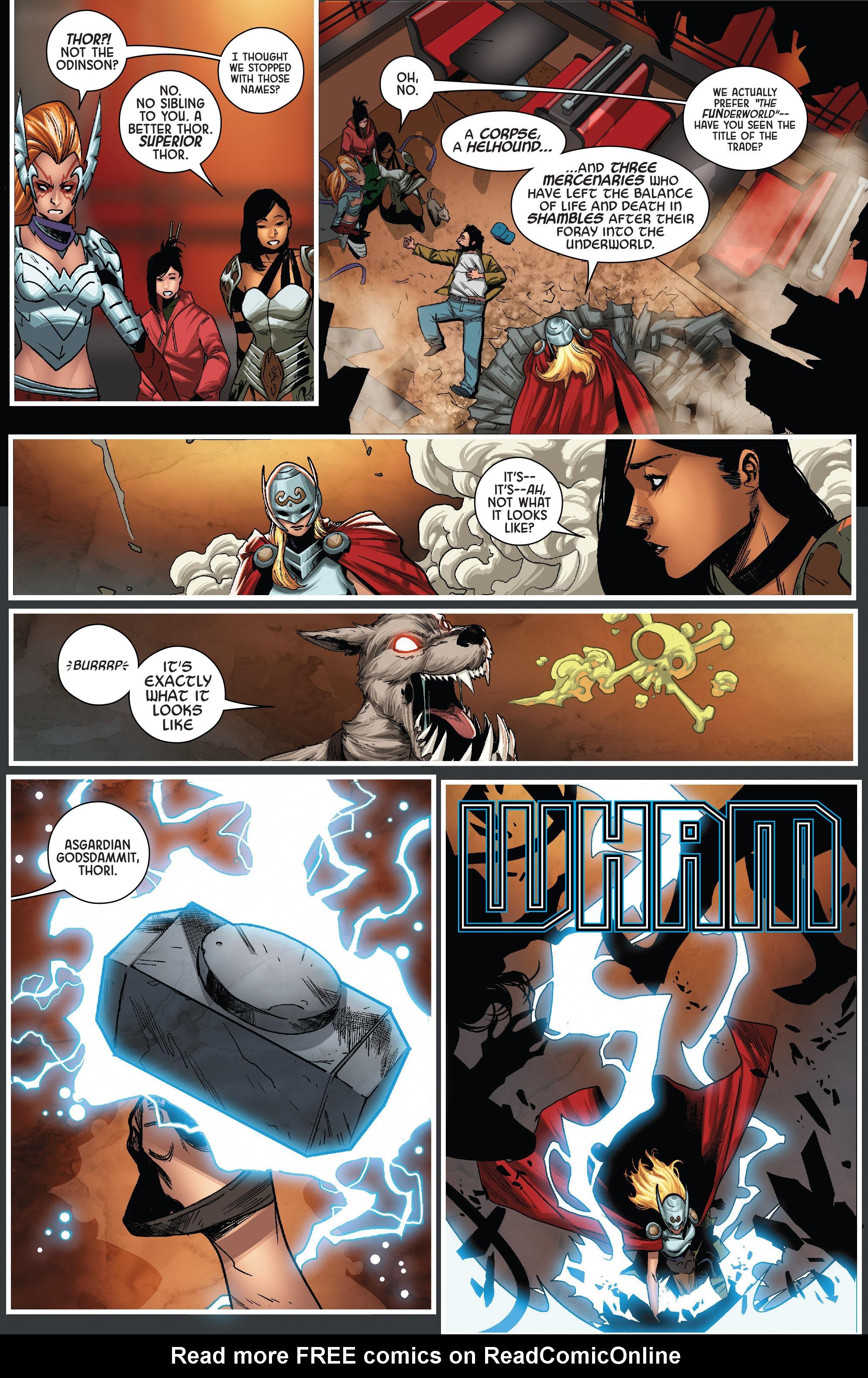 Read online Angela: Queen Of Hel comic -  Issue #6 - 12