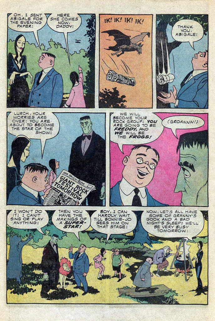 Read online Addams Family comic -  Issue #3 - 2