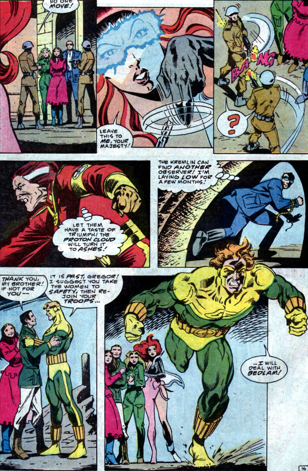 Read online Adventures of the Outsiders comic -  Issue #35 - 18