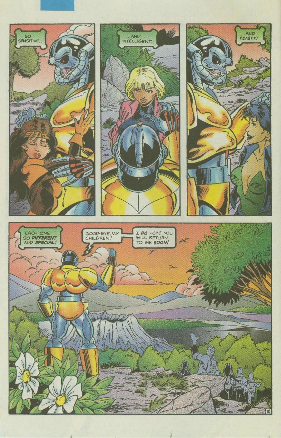 Read online Ex-Mutants comic -  Issue #4 - 13