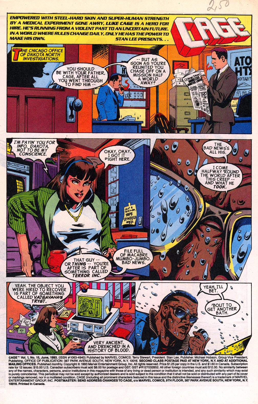 Cage (1992) 15 Page 2
