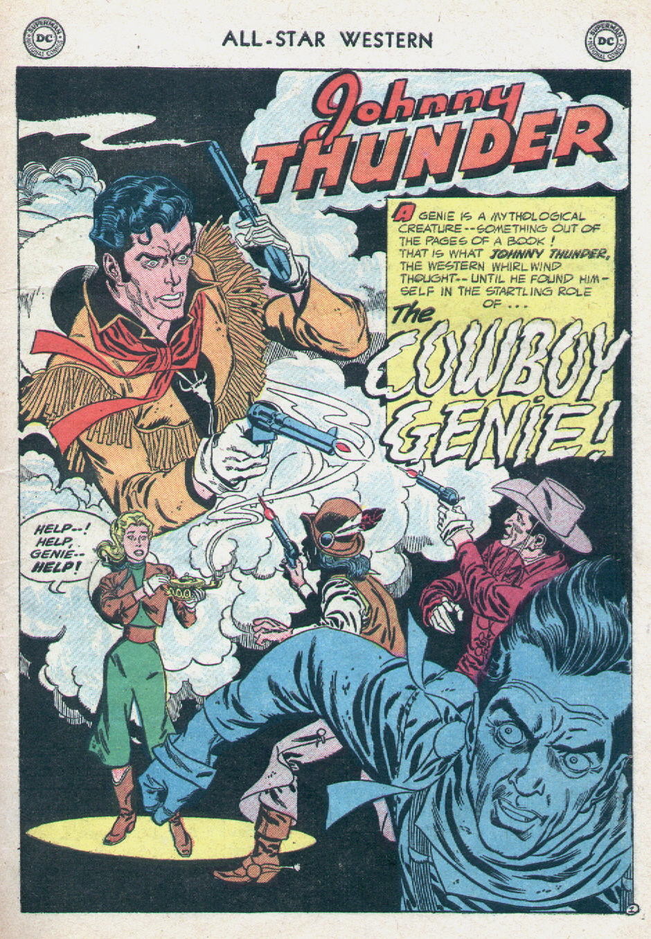 Read online All-Star Western (1951) comic -  Issue #90 - 27