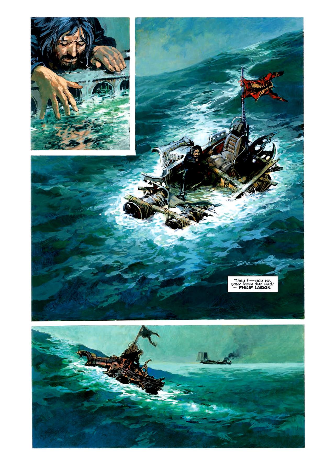 Read online Nikolai Dante comic -  Issue # TPB 6 - 86