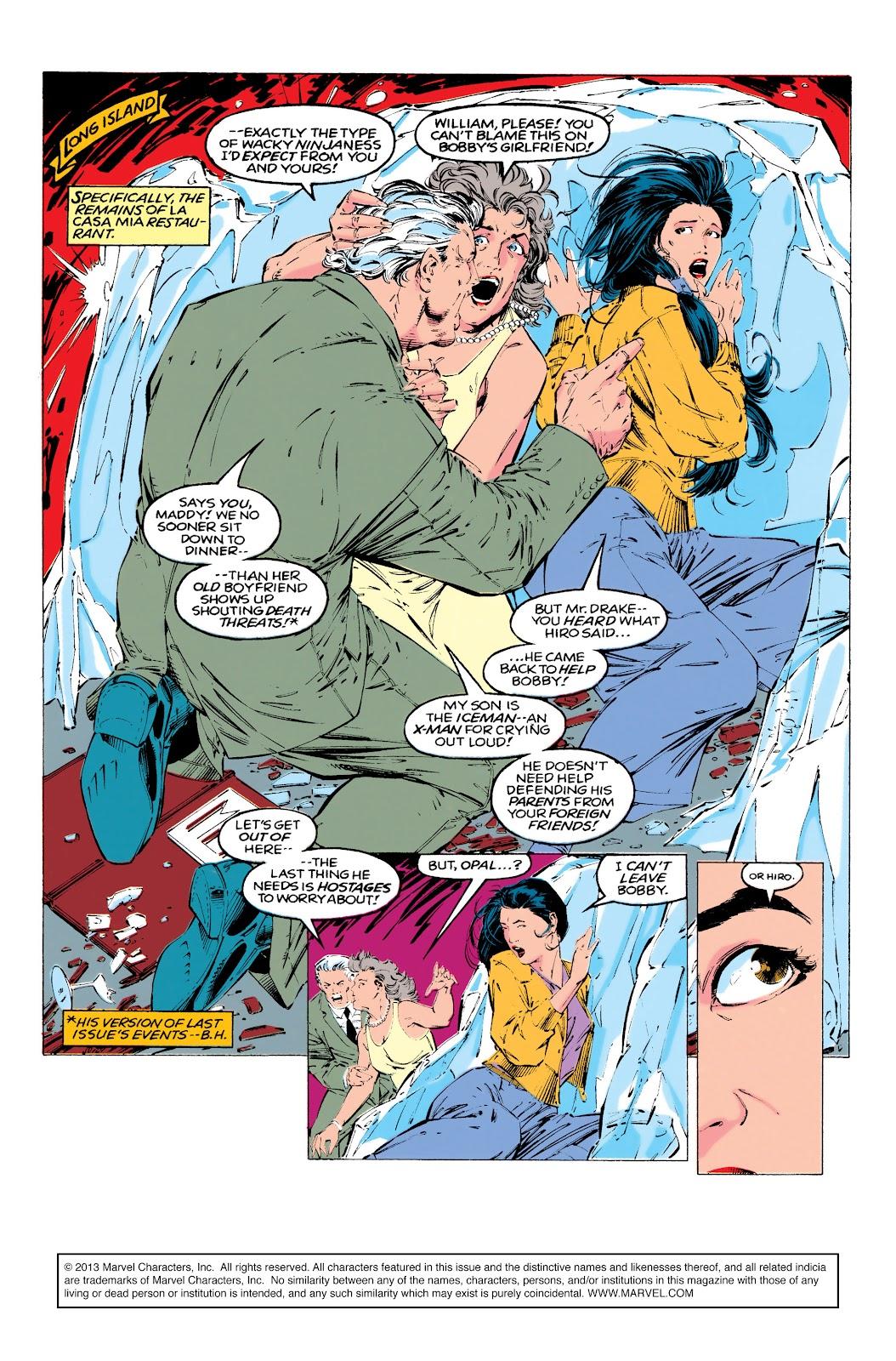 Uncanny X-Men (1963) issue 290 - Page 2