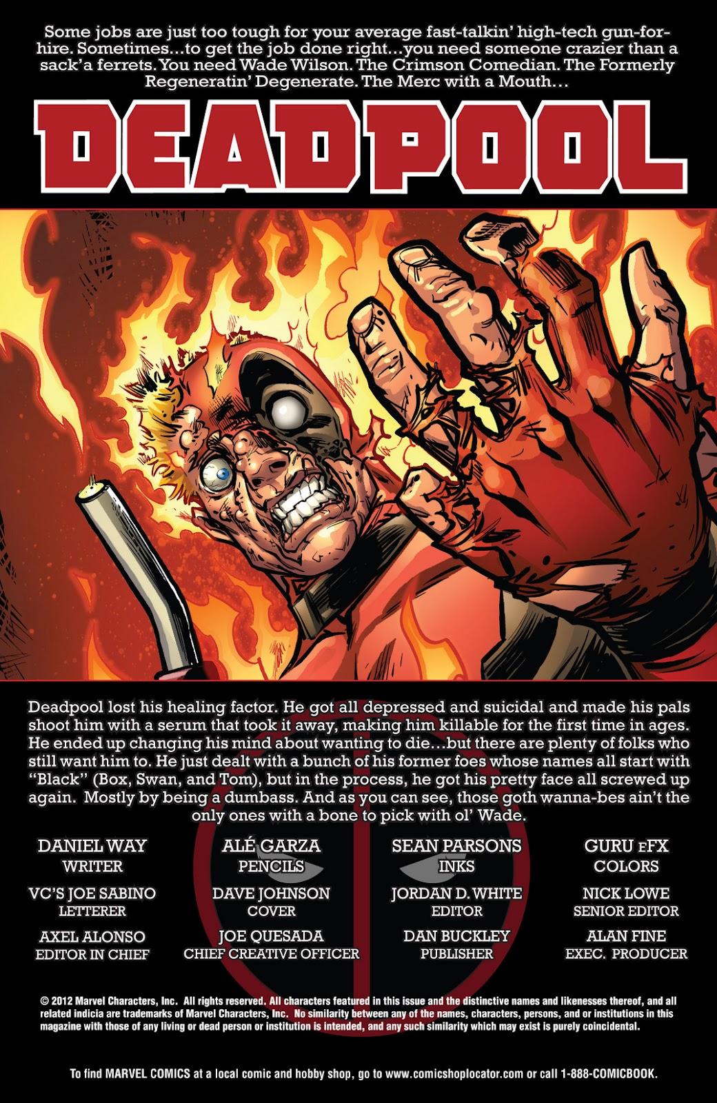 Read online Deadpool (2008) comic -  Issue #61 - 2