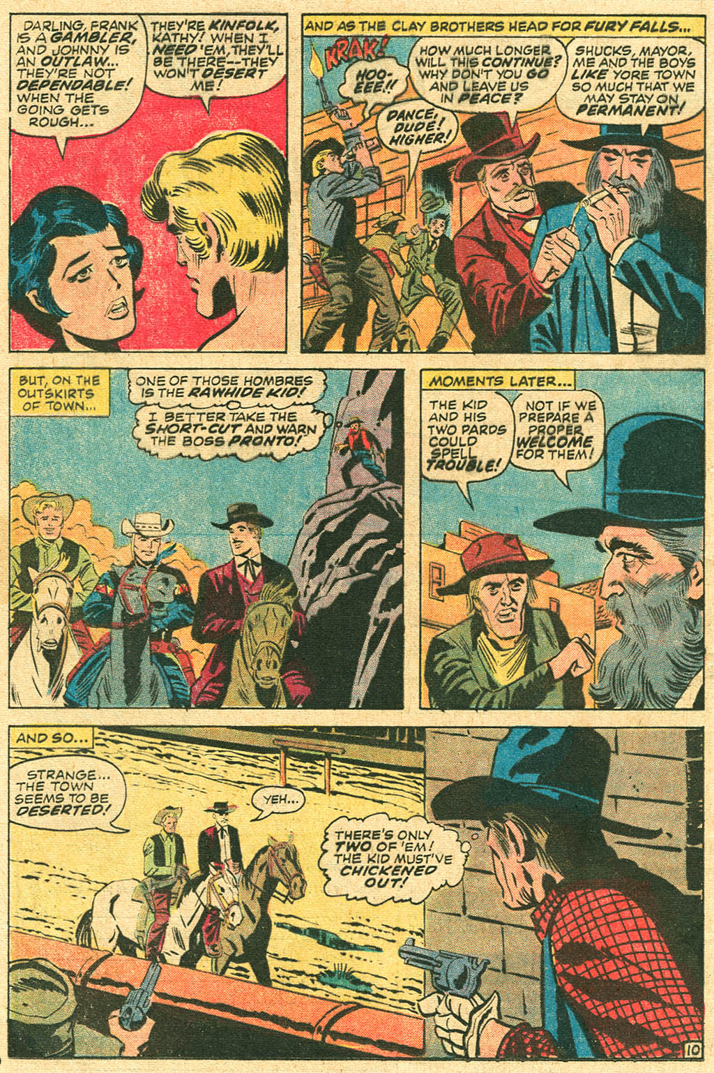 The Rawhide Kid (1955) issue 100 - Page 16