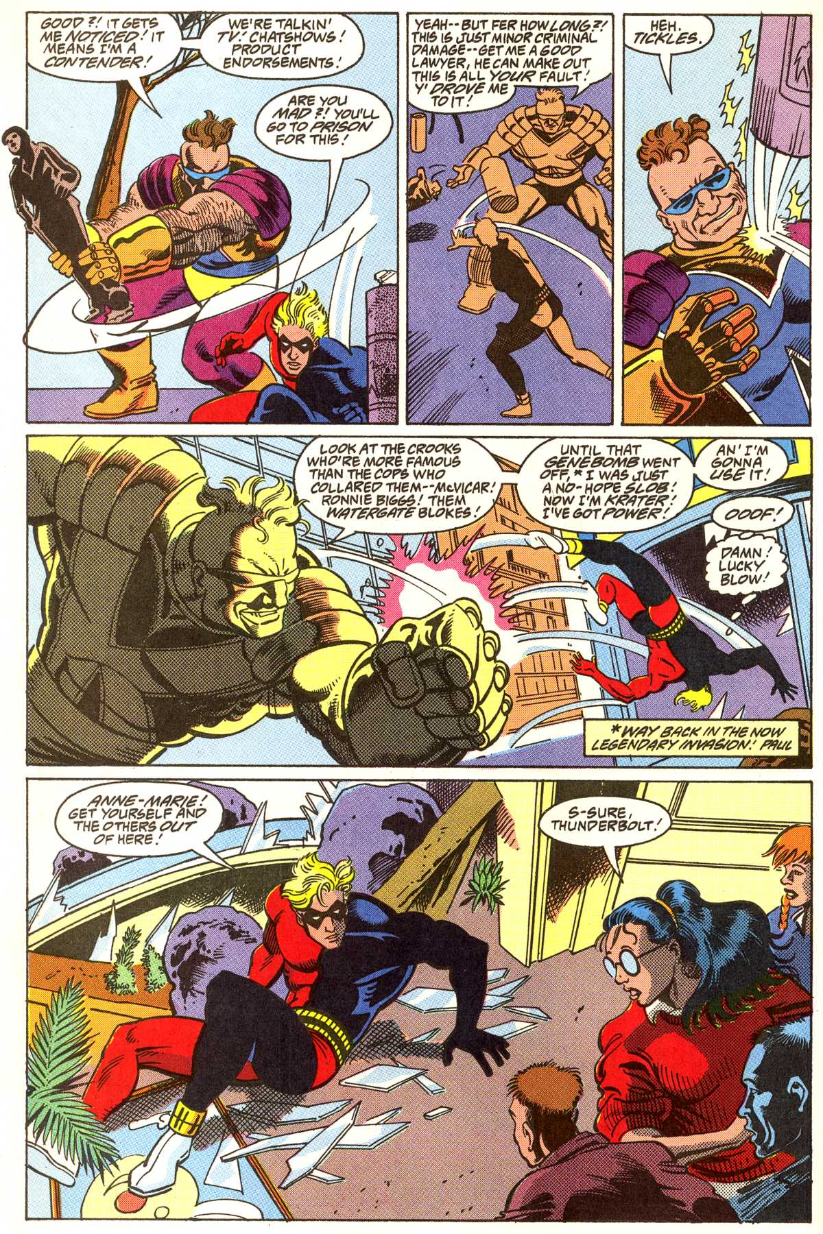 Read online Peter Cannon--Thunderbolt (1992) comic -  Issue #5 - 17