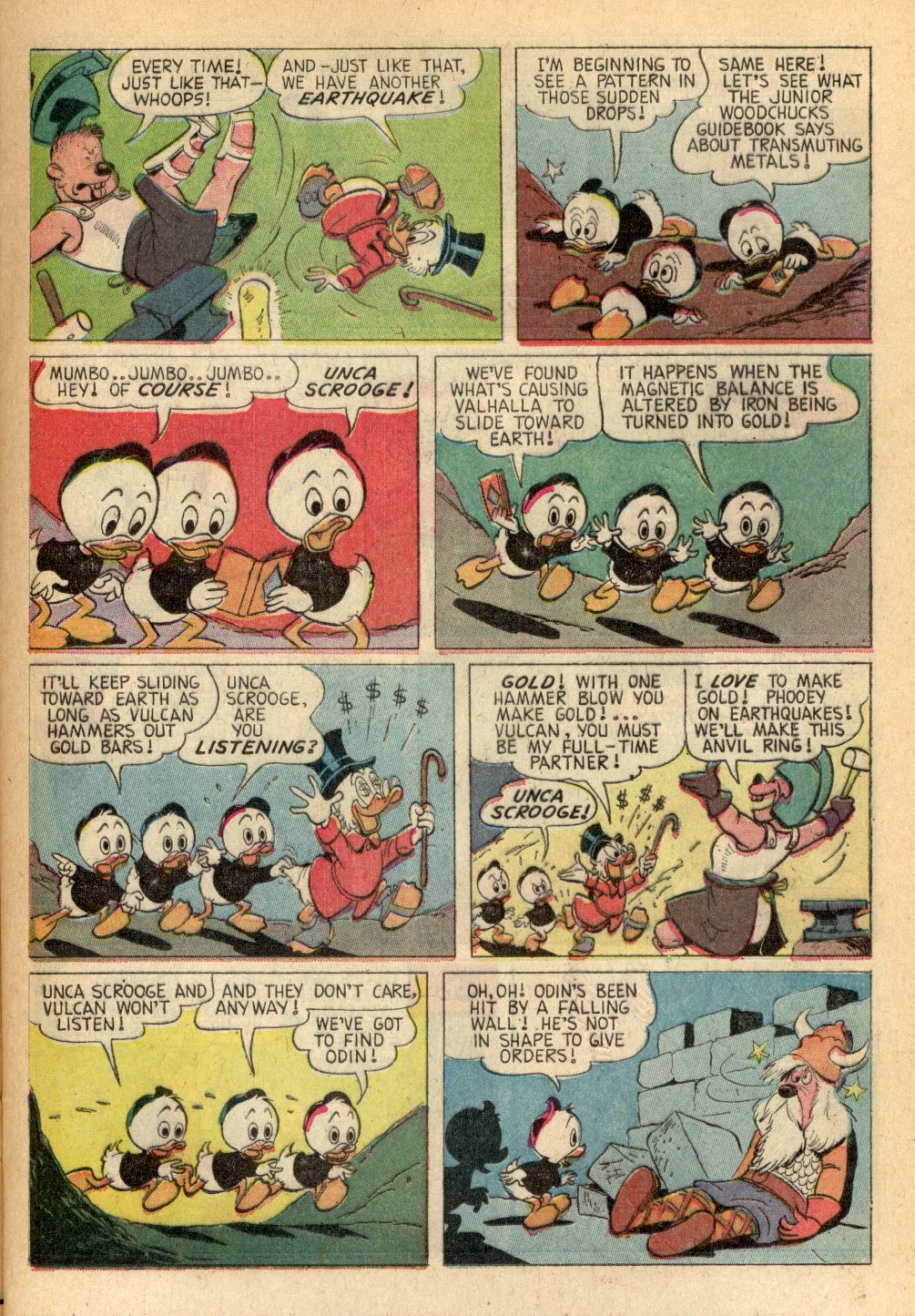 Read online Uncle Scrooge (1953) comic -  Issue #82 - 13