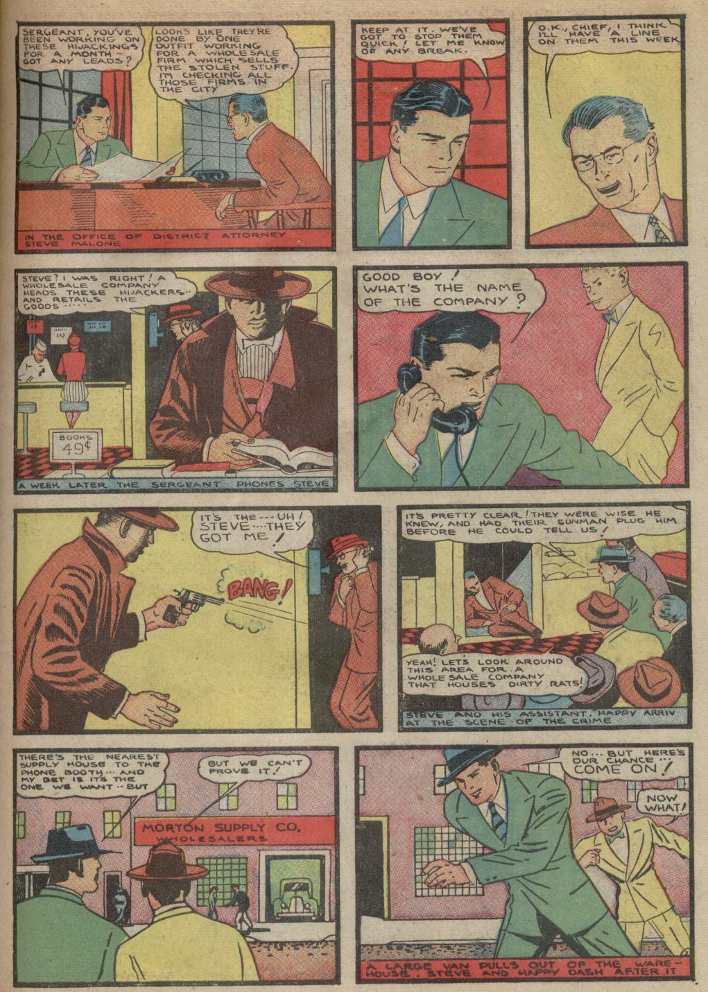 Read online Detective Comics (1937) comic -  Issue #39 - 44