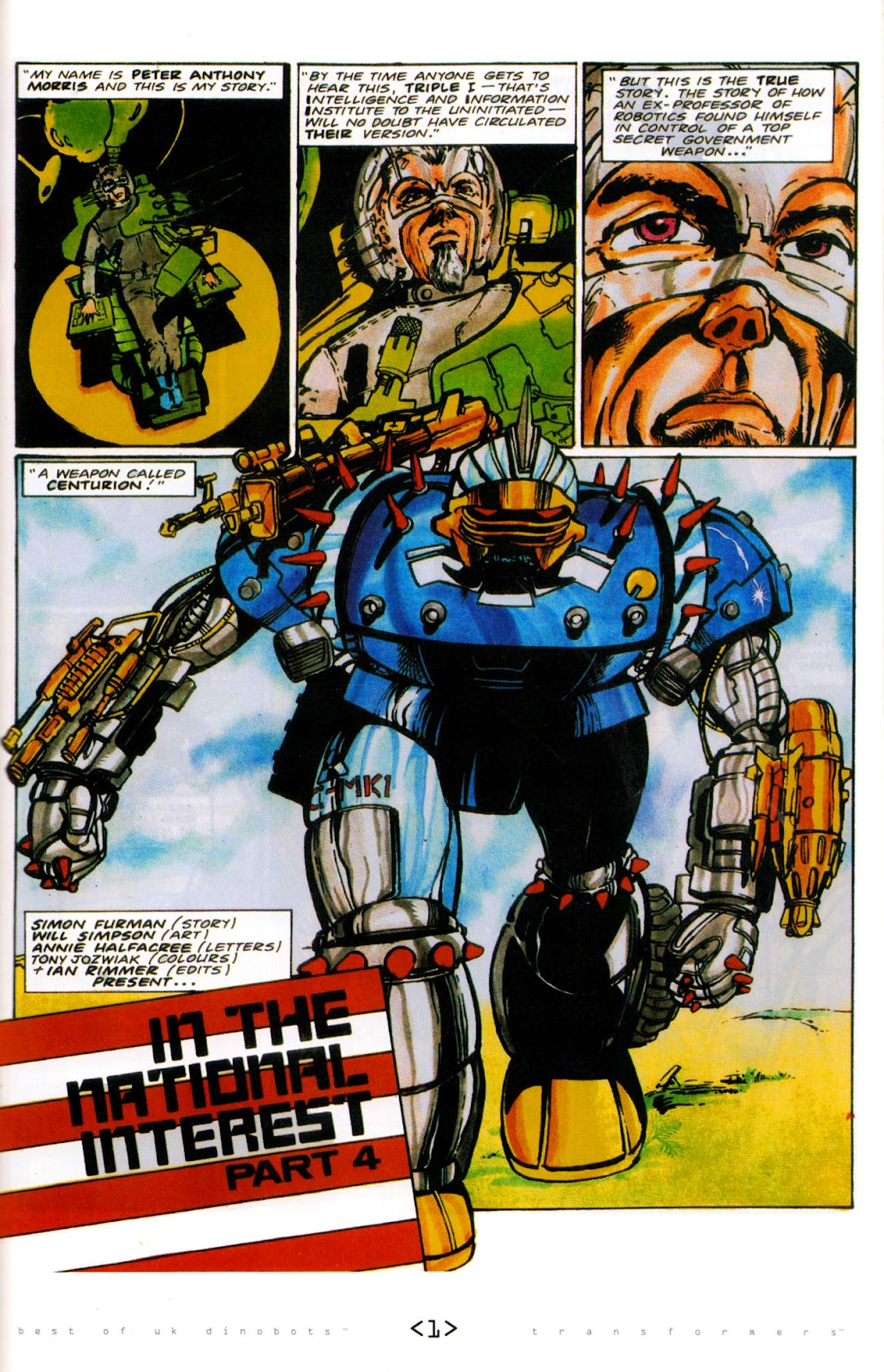 Read online The Transformers: Best of UK: Dinobots comic -  Issue #6 - 4