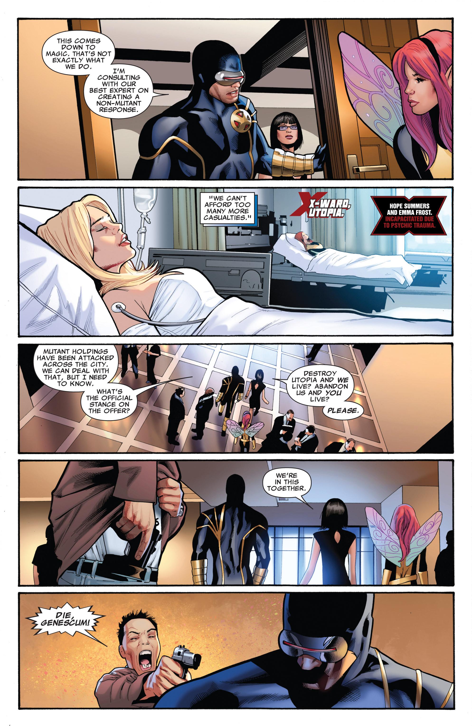 Read online Uncanny X-Men (1963) comic -  Issue #542 - 6