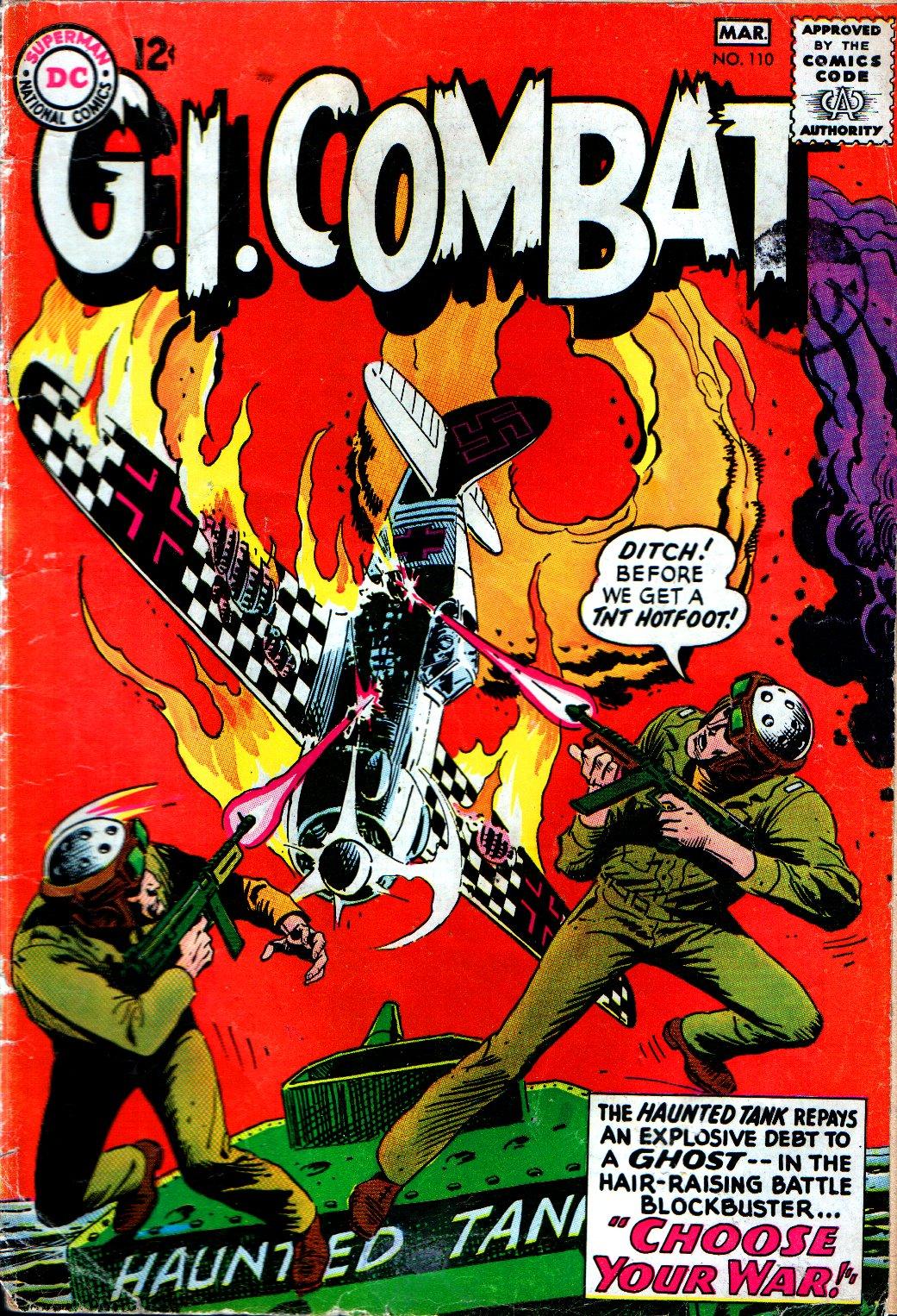 G.I. Combat (1952) 110 Page 1