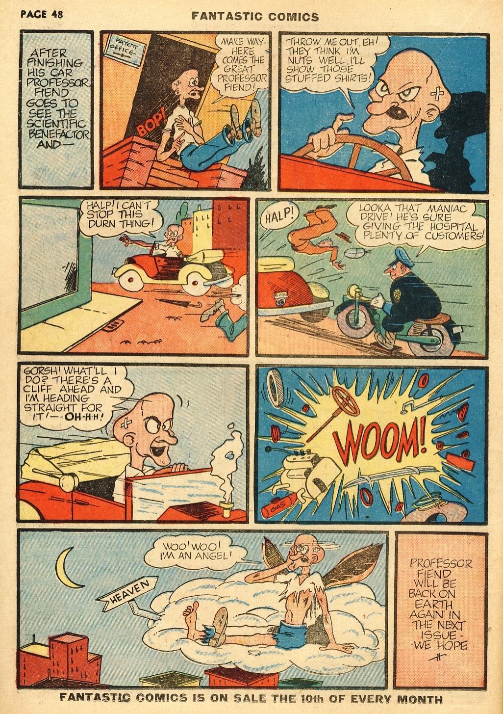 Read online Fantastic Comics comic -  Issue #10 - 49