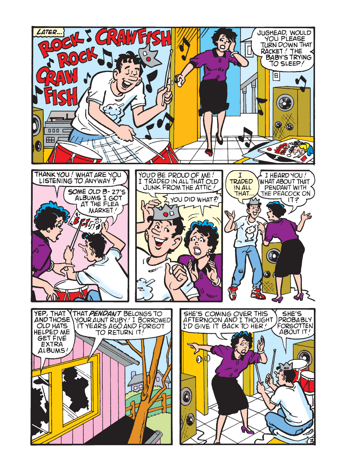 Read online Archie's Funhouse Double Digest comic -  Issue #3 - 111