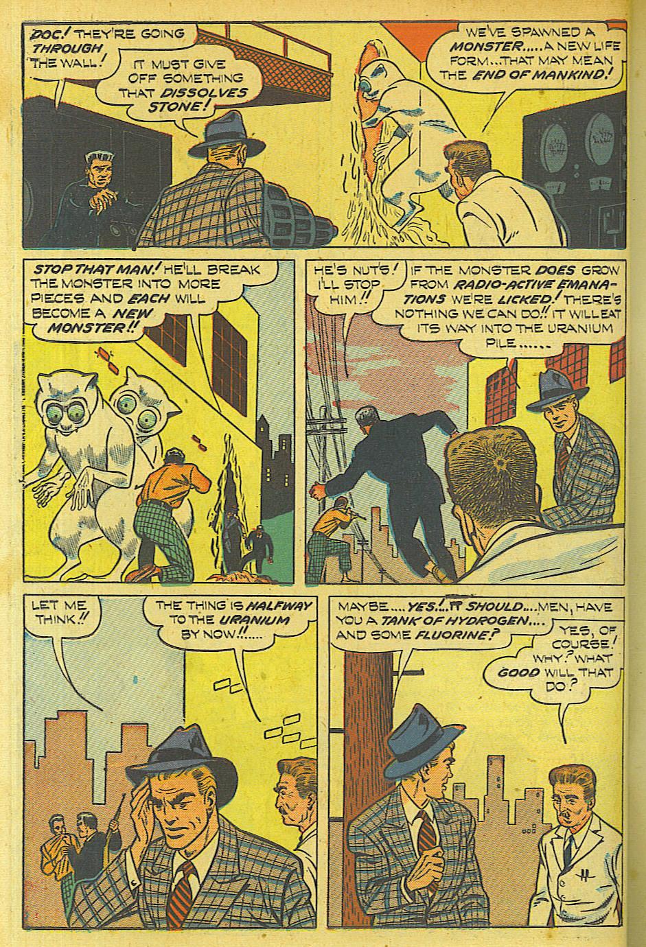 Read online Shadow Comics comic -  Issue #87 - 21