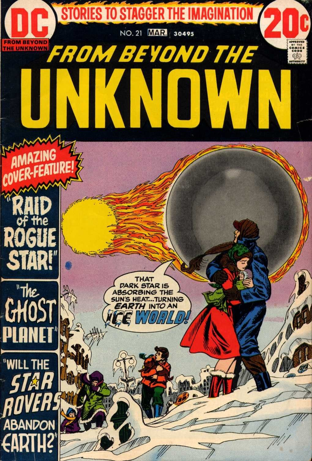 From Beyond the Unknown (1969) issue 21 - Page 1