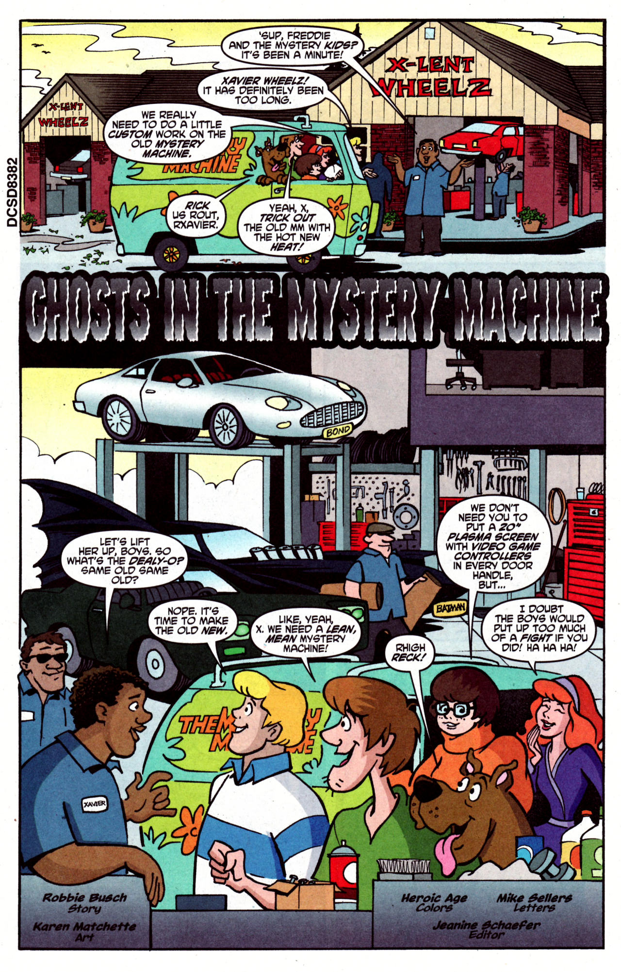 Read online Scooby-Doo (1997) comic -  Issue #125 - 4
