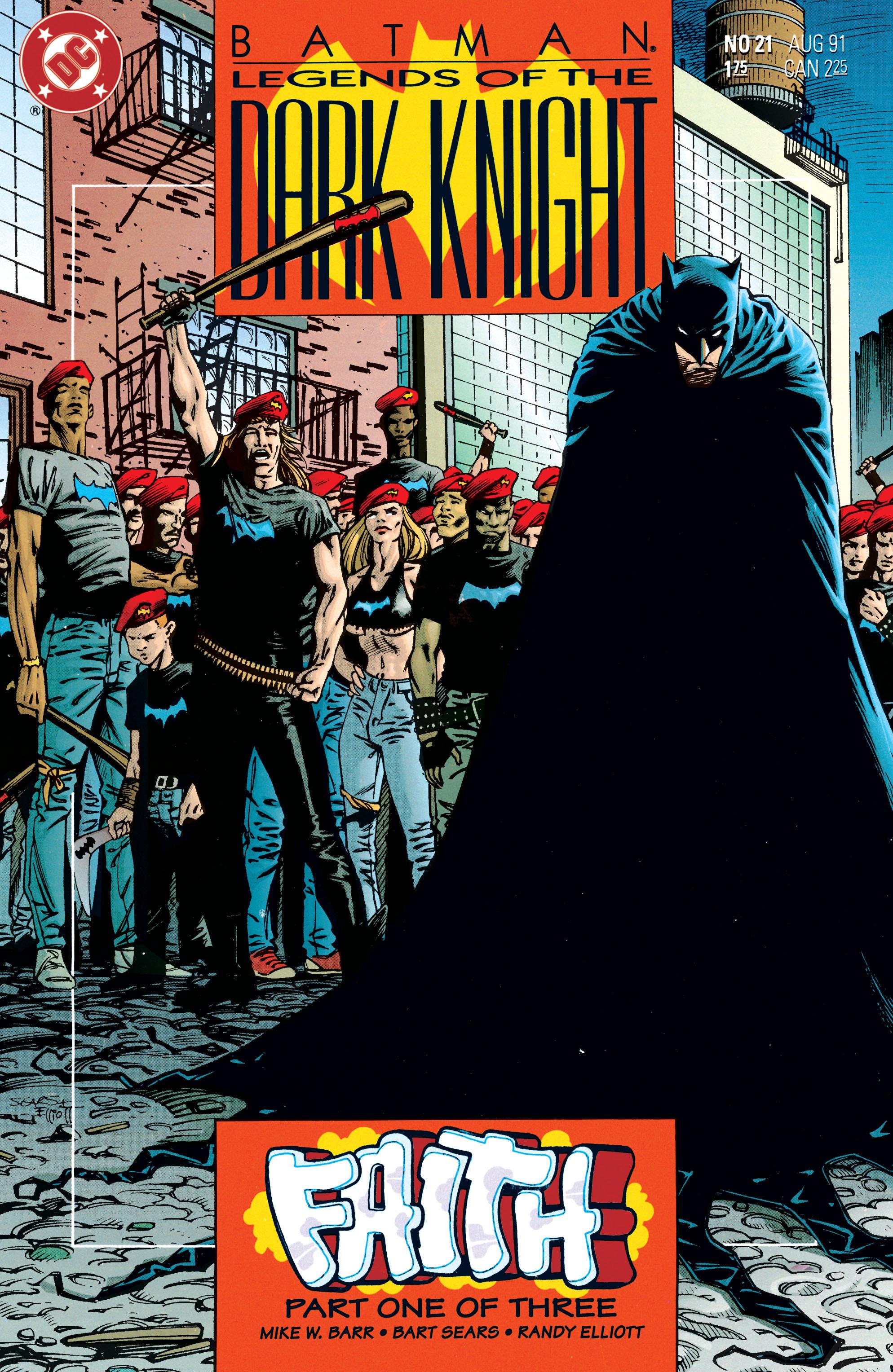 Batman: Legends of the Dark Knight 21 Page 1