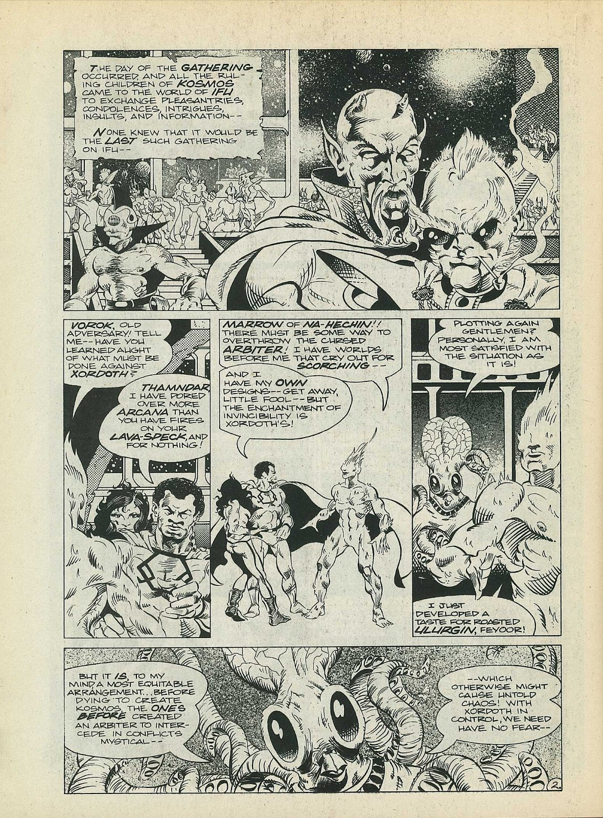 Star Fighters issue 3 - Page 44