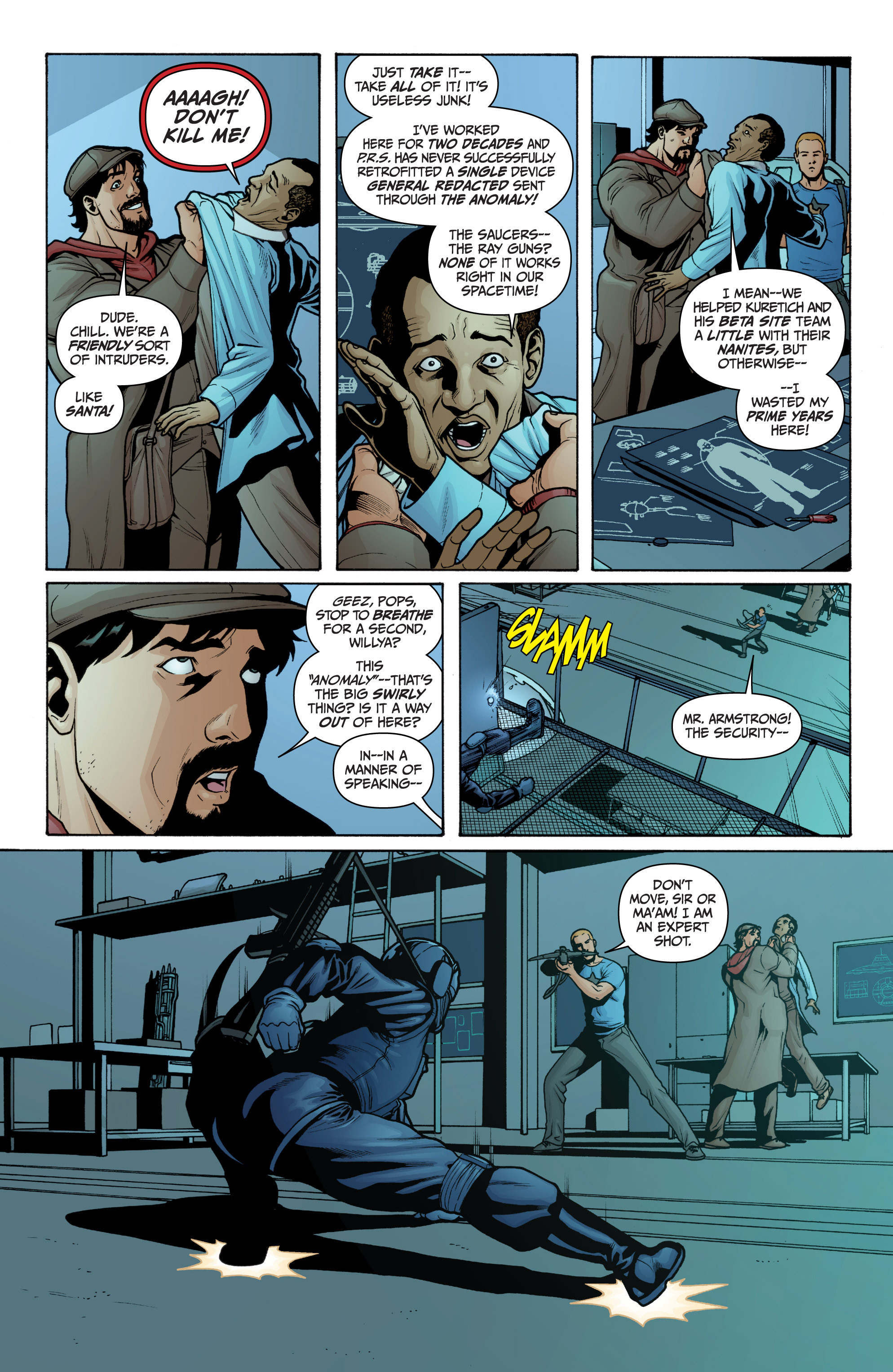 Read online Archer and Armstrong comic -  Issue #Archer and Armstrong _TPB 3 - 45