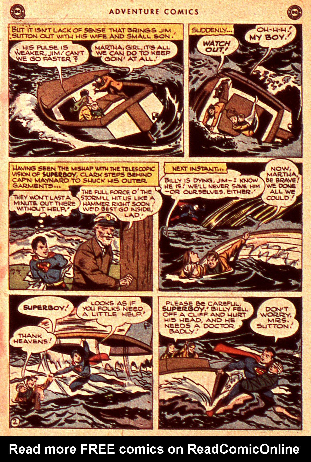 Read online Adventure Comics (1938) comic -  Issue #106 - 4