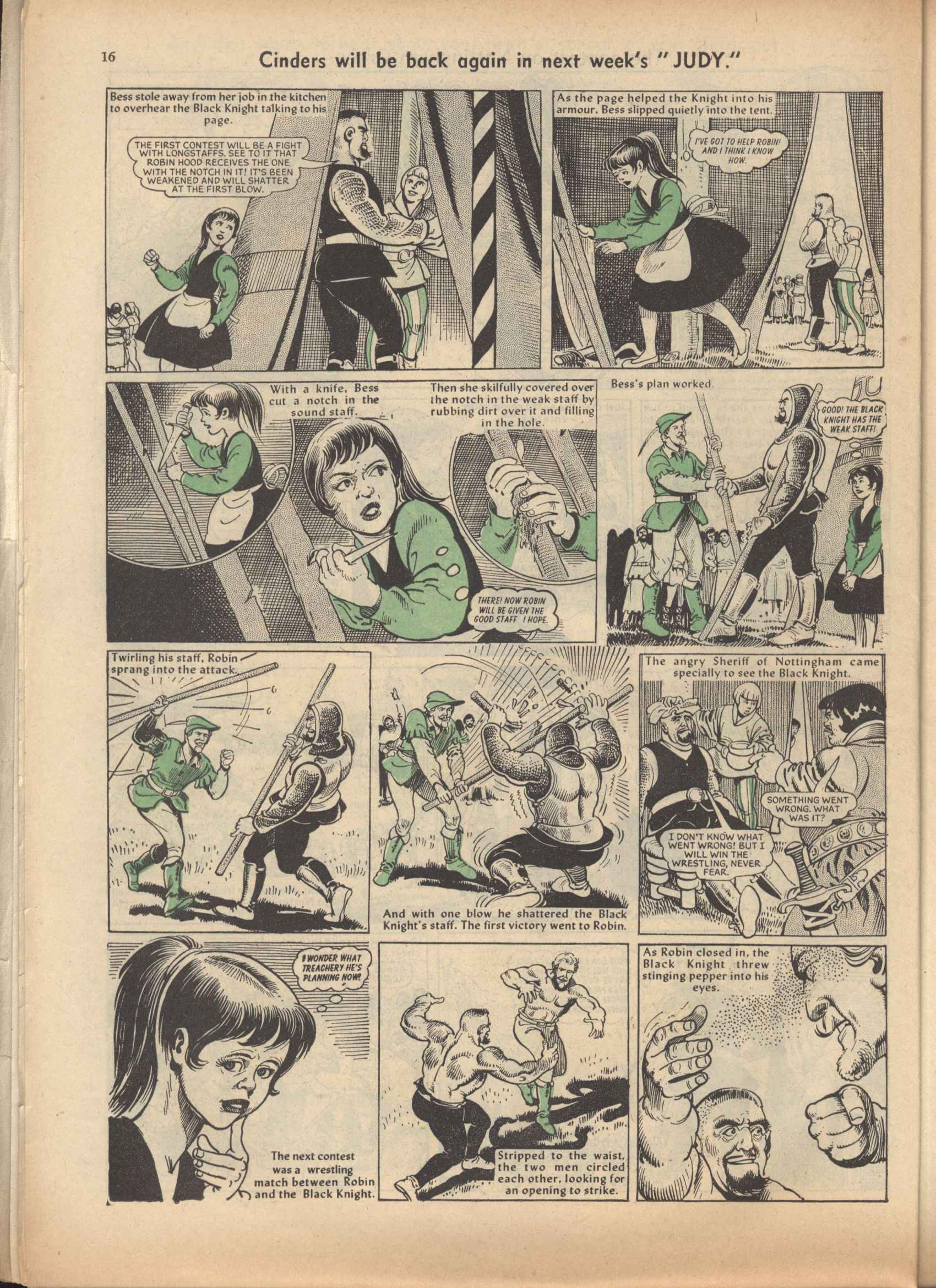 Read online Judy comic -  Issue #47 - 16