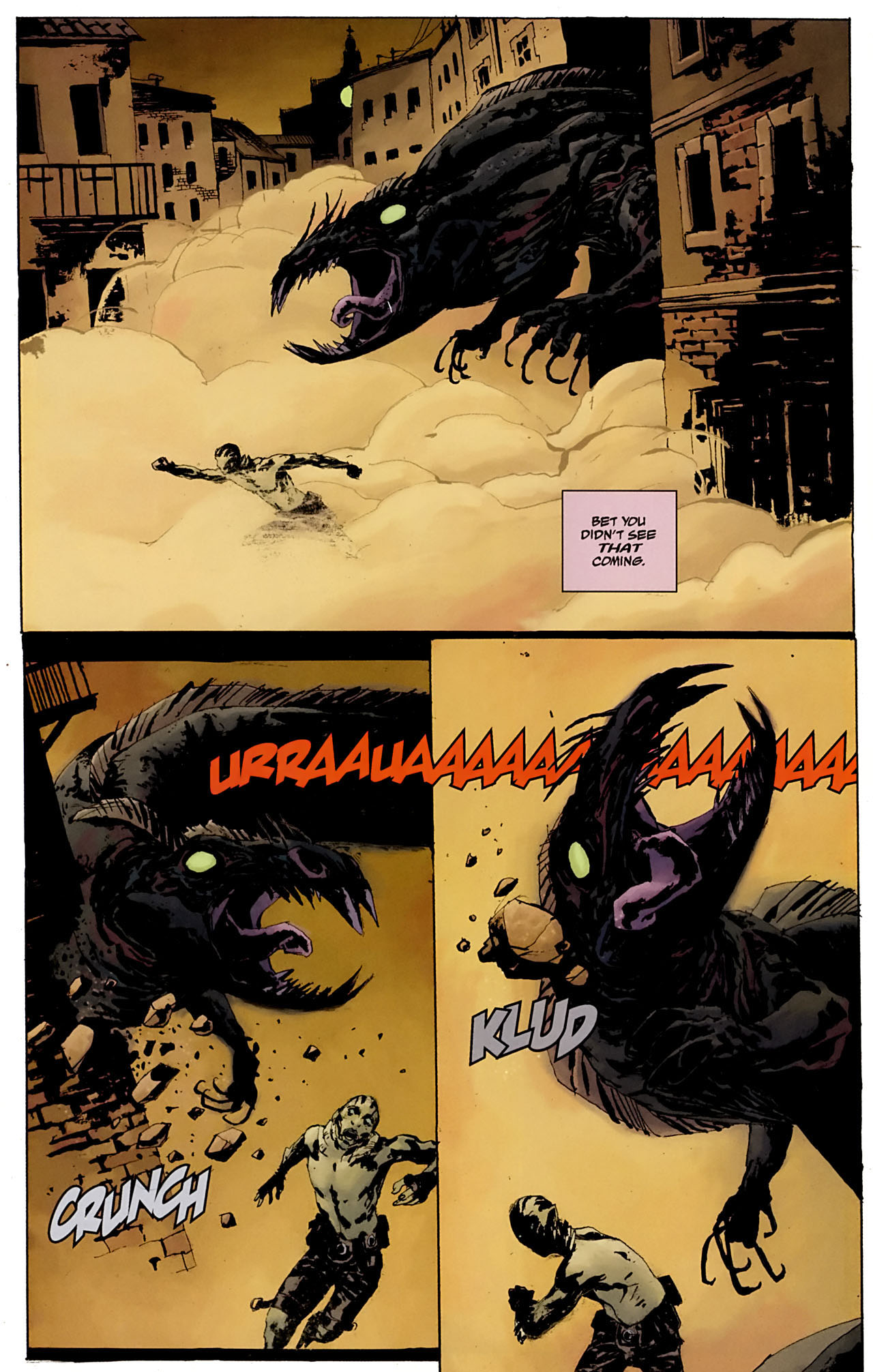 Read online Abe Sapien: The Drowning comic -  Issue #3 - 14