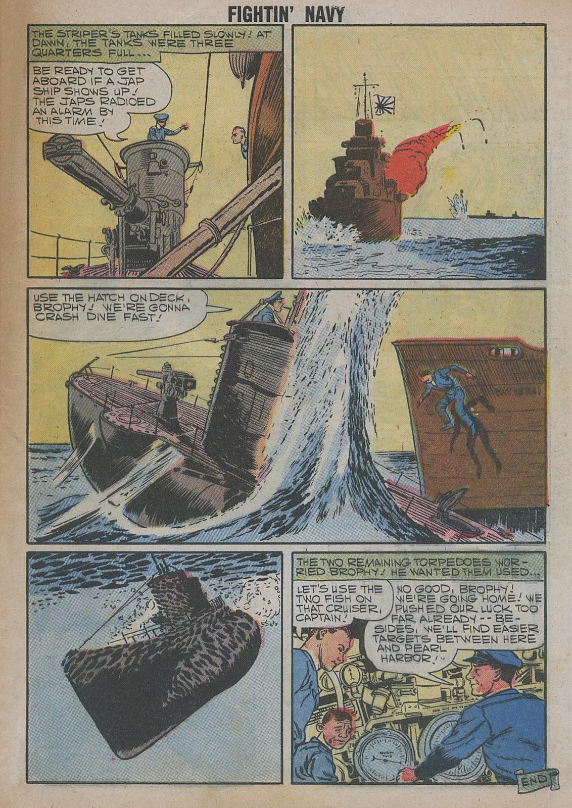 Read online Fightin' Navy comic -  Issue #82 - 7