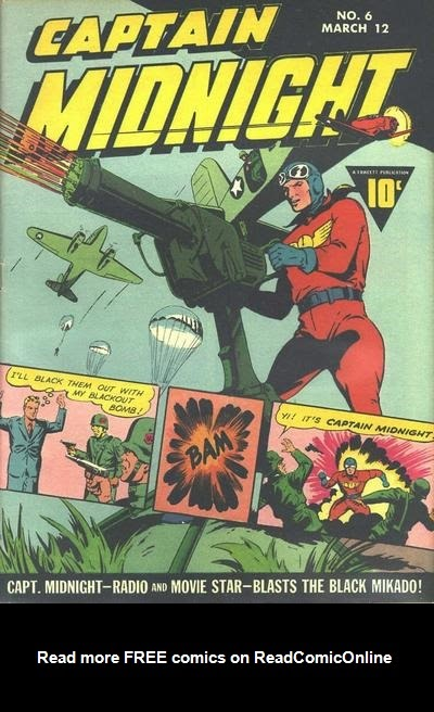 Captain Midnight (1942) issue 6 - Page 1