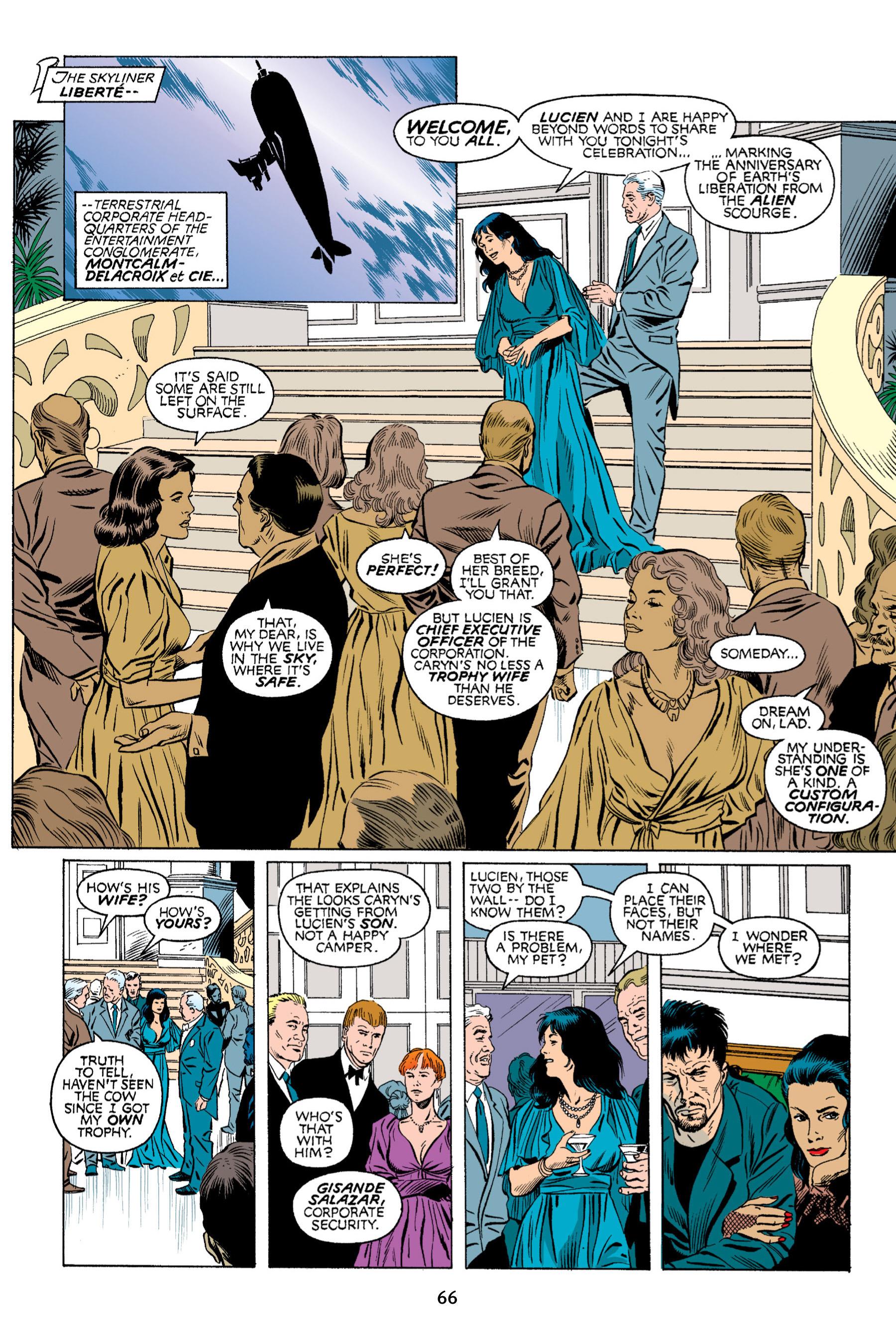 Read online Aliens vs. Predator Omnibus comic -  Issue # _TPB 2 Part 1 - 65