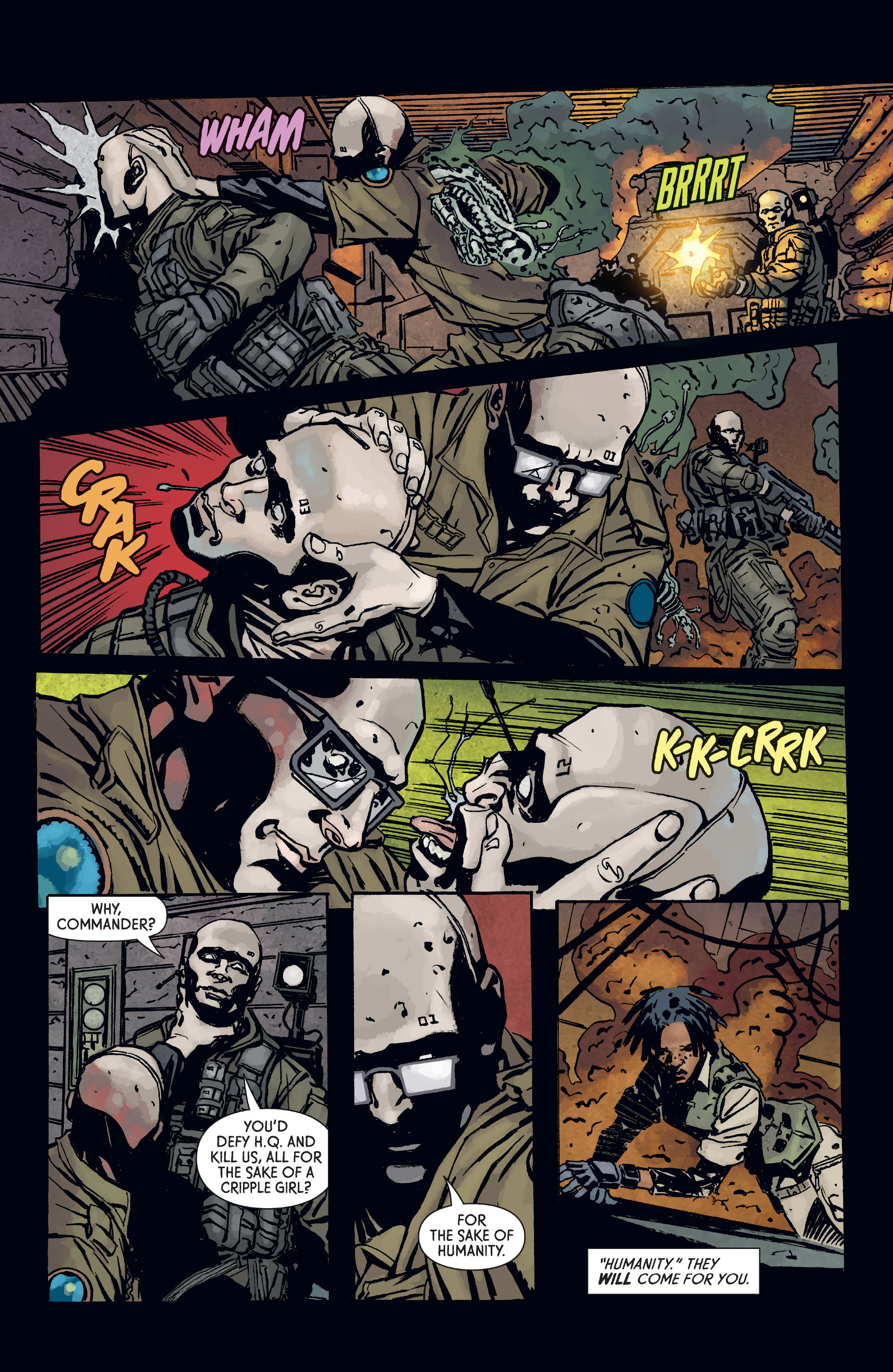 Read online Aliens: Defiance comic -  Issue #3 - 22