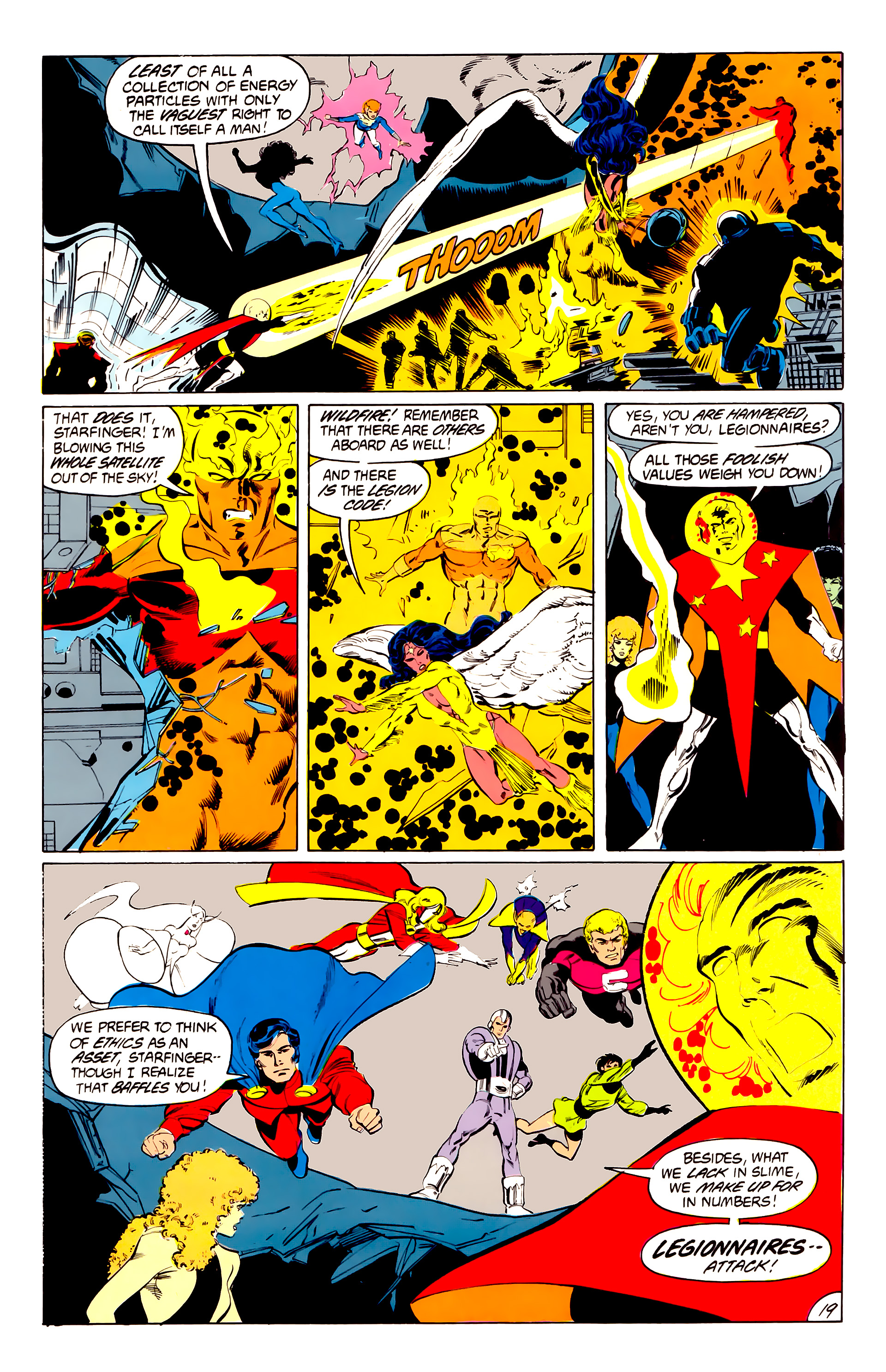 Legion of Super-Heroes (1984) 41 Page 19