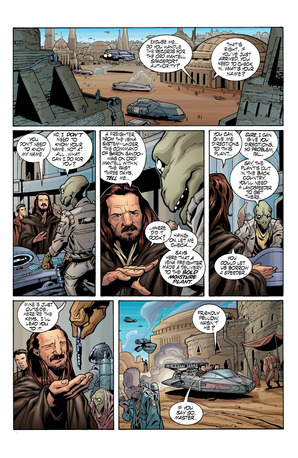 Read online Star Wars Legends: Rise of the Sith - Epic Collection comic -  Issue # TPB 1 (Part 3) - 91