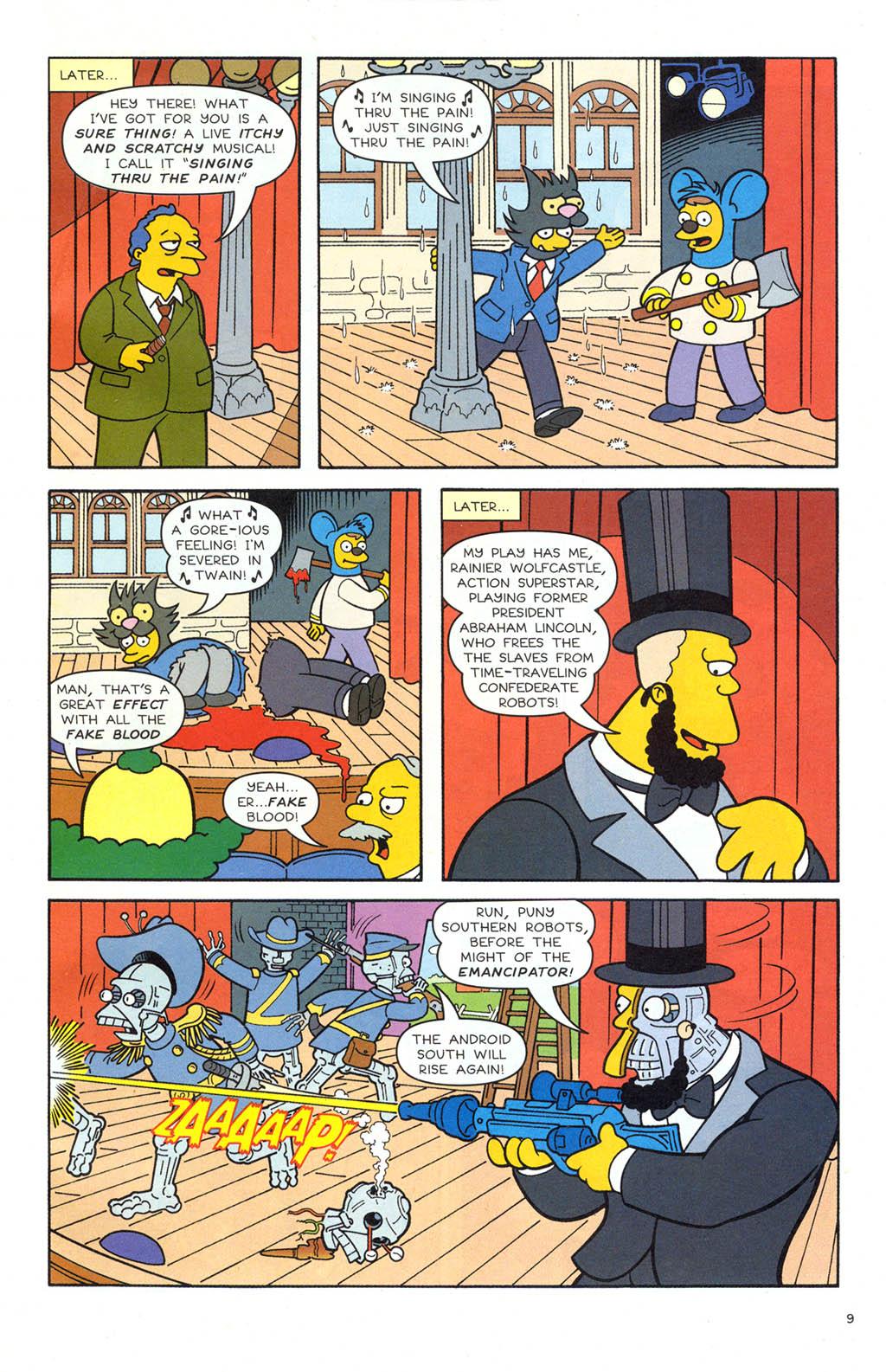 Read online Simpsons Comics comic -  Issue #106 - 10