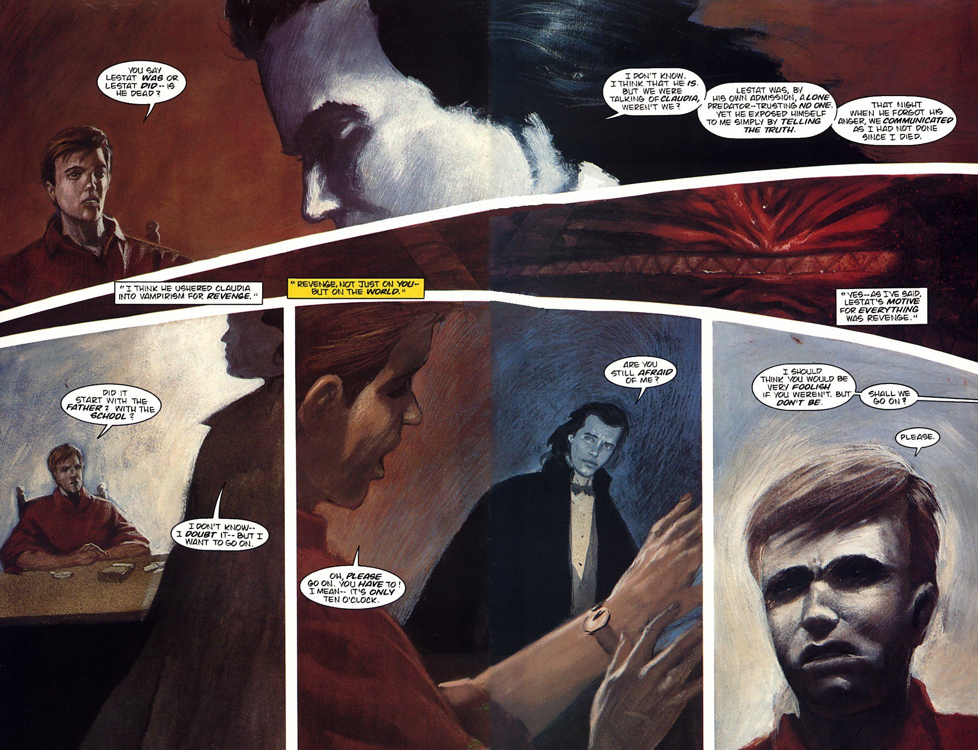 Read online Anne Rice's Interview with the Vampire comic -  Issue #4 - 6