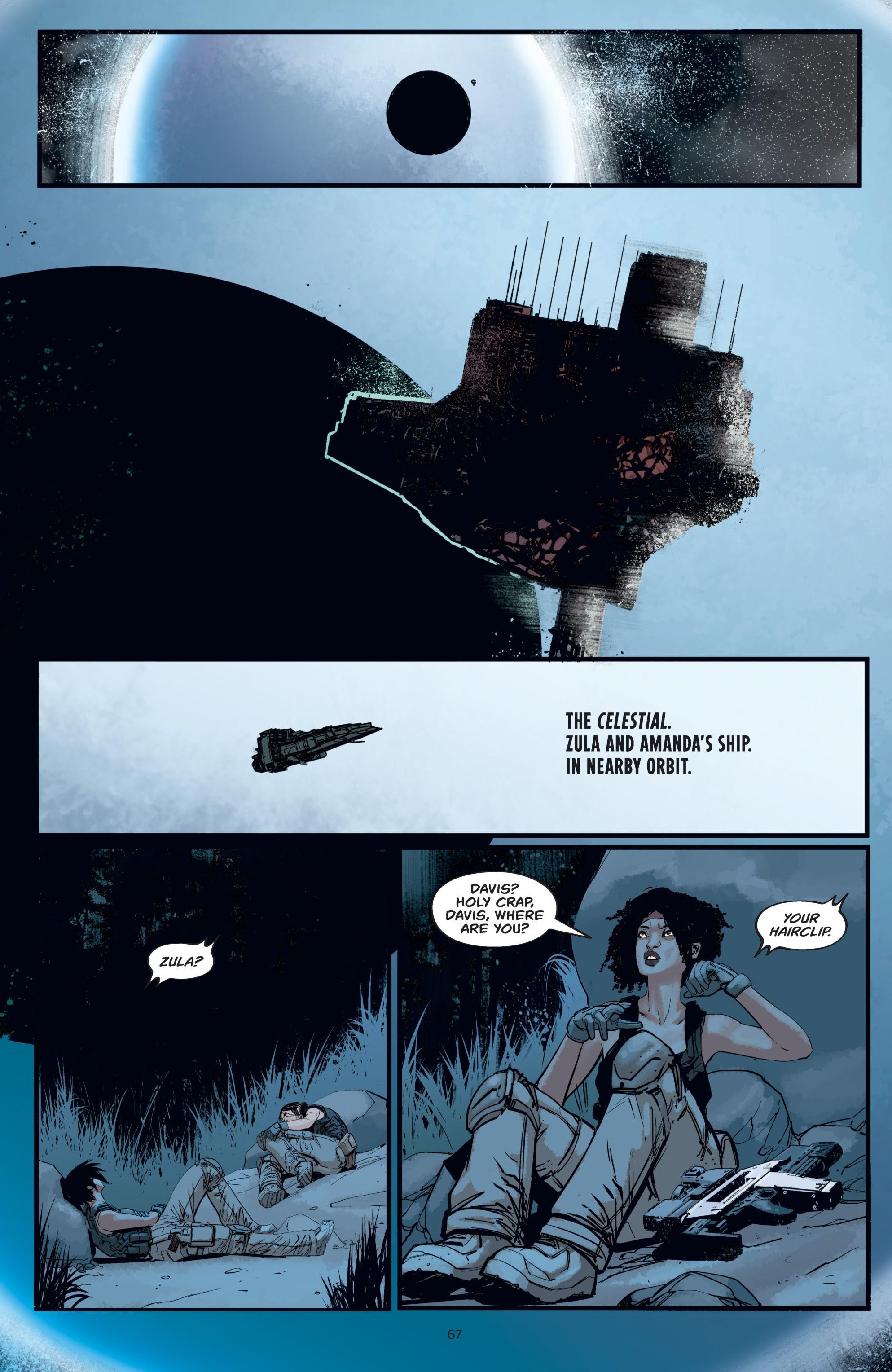 Read online Aliens: Resistance comic -  Issue # _TPB - 67