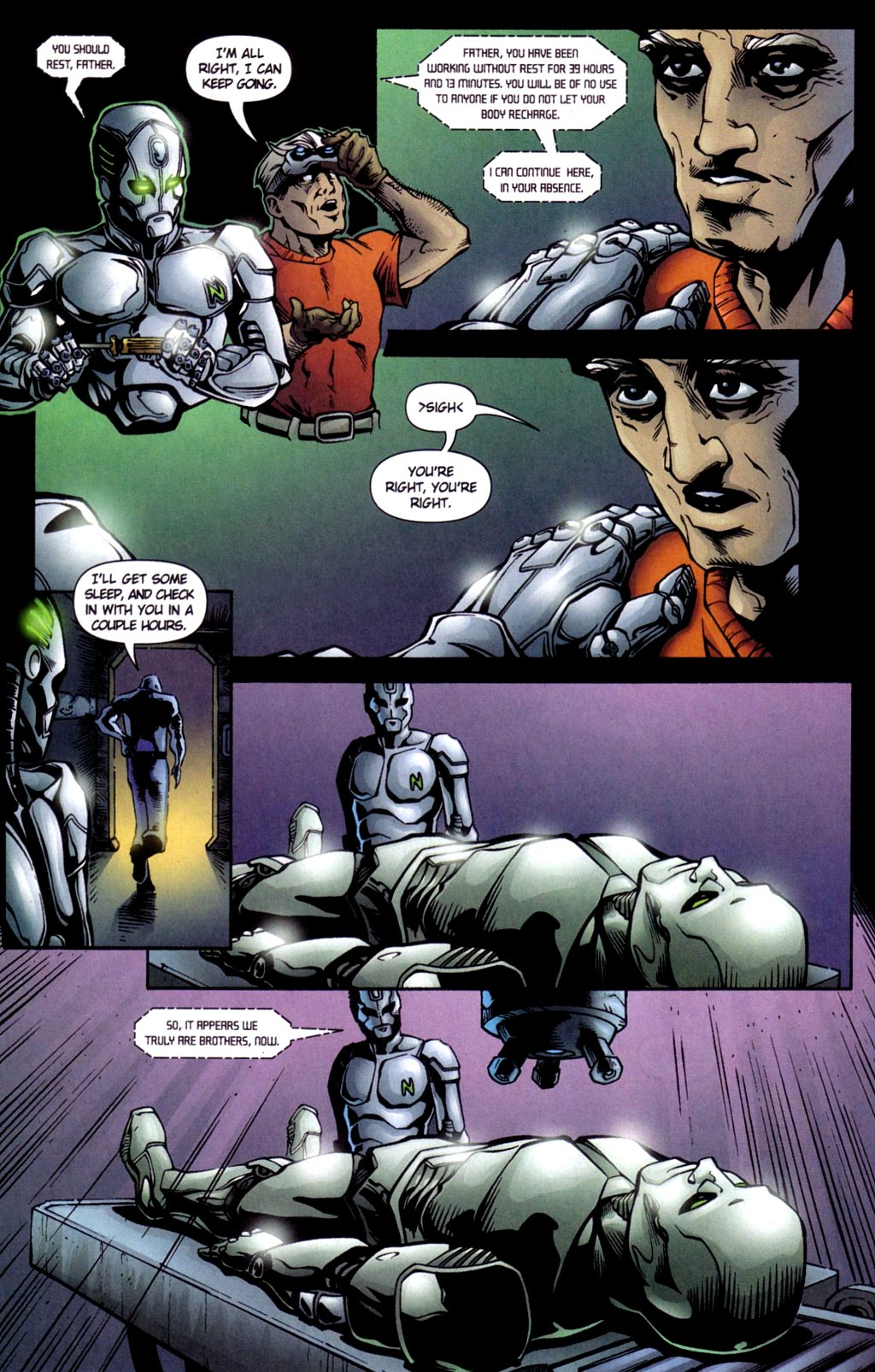 Read online Noble Causes (2002) comic -  Issue #4 - 21