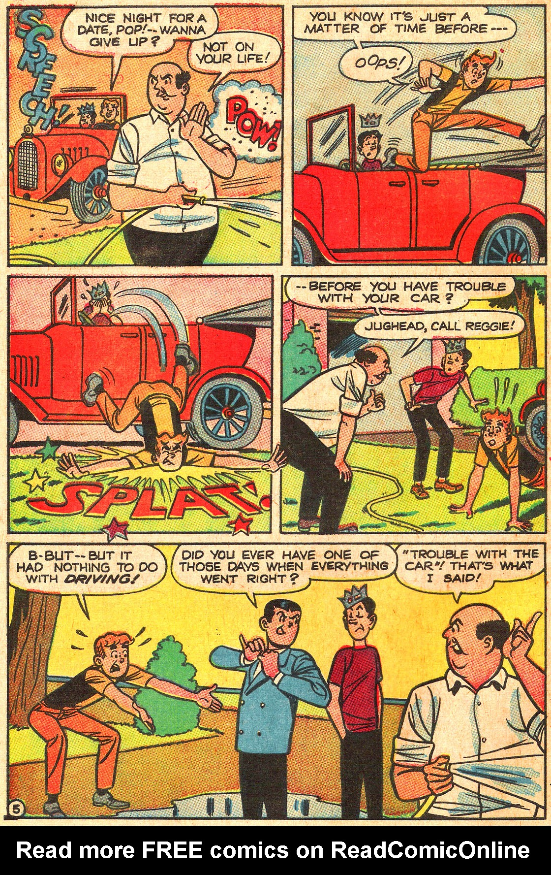Read online Archie (1960) comic -  Issue #176 - 32