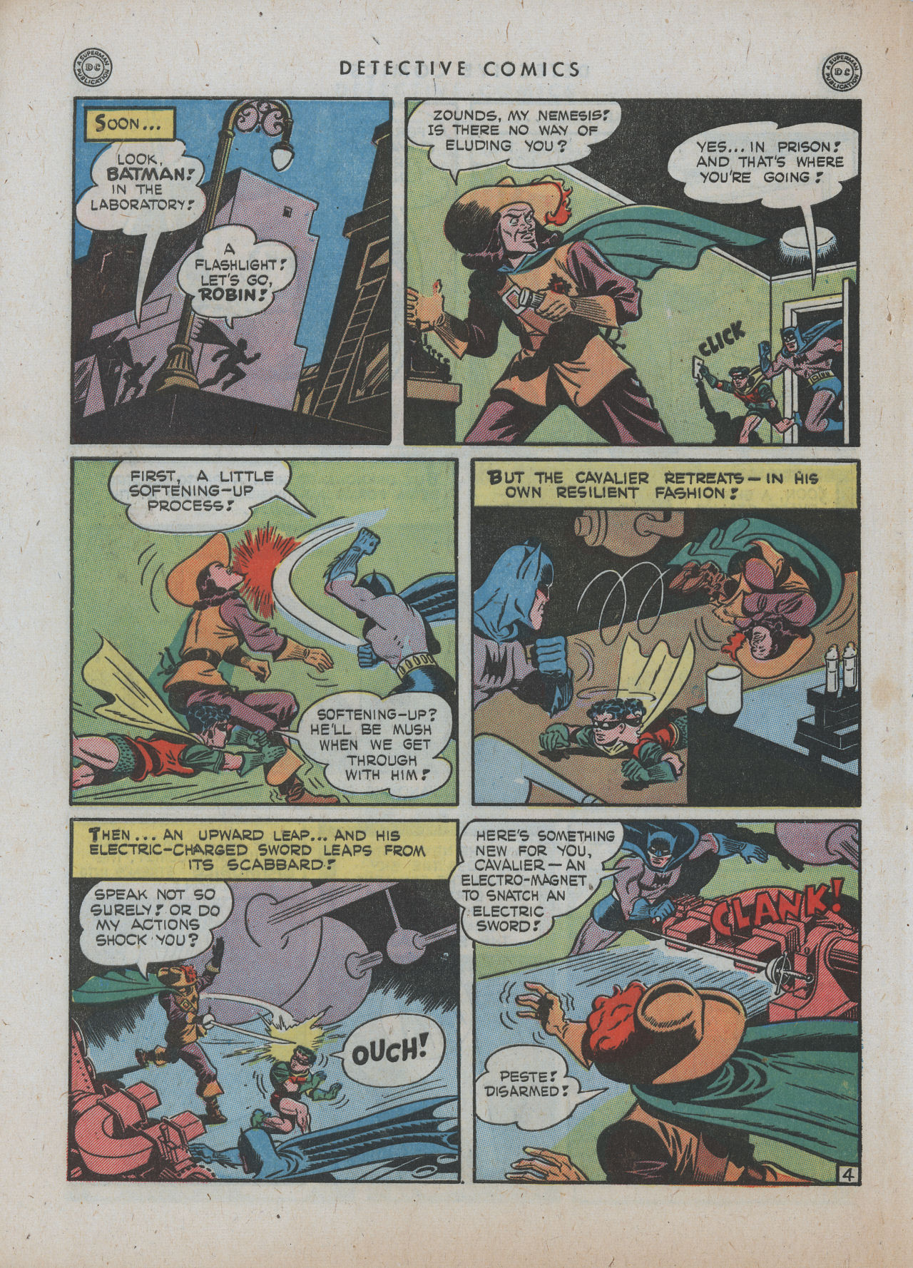 Read online Detective Comics (1937) comic -  Issue #89 - 6