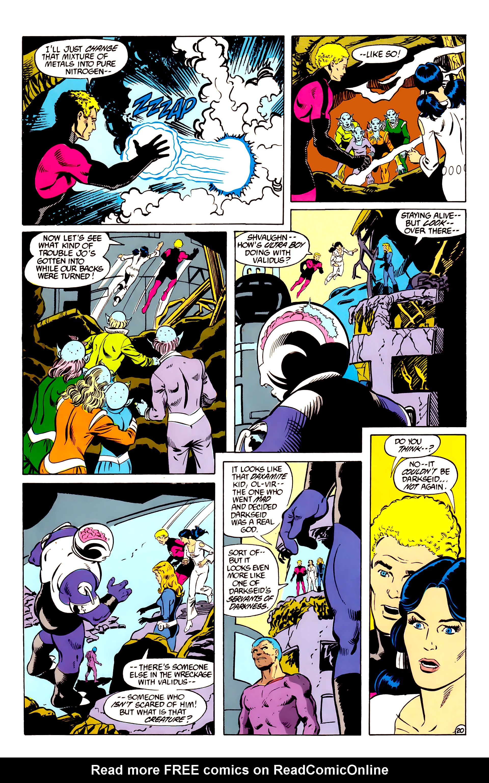Legion of Super-Heroes (1984) _Annual_2 Page 21